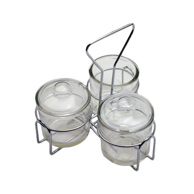 Royal Industries ROY CJH 3 condiment caddy, rack only