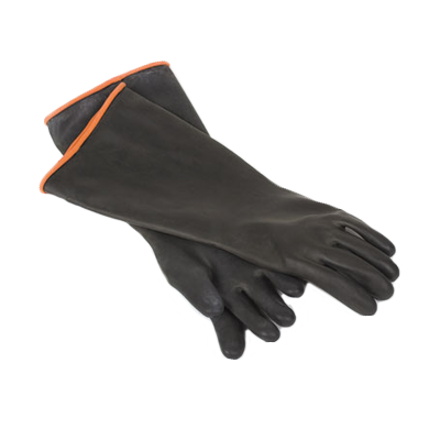 Royal Industries ROY GLV BLK EL gloves, dishwashing / cleaning