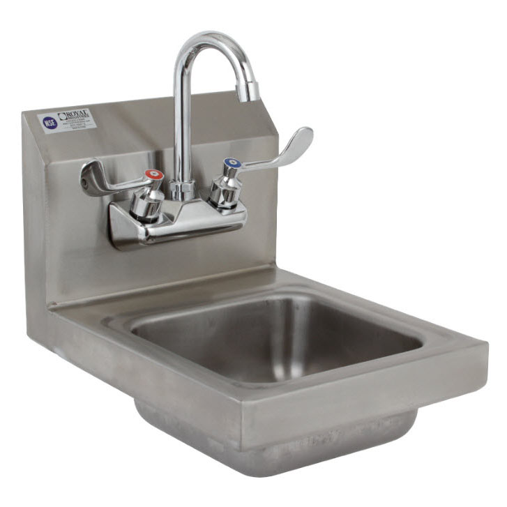 Royal Industries ROY HSW 12 sink, hand