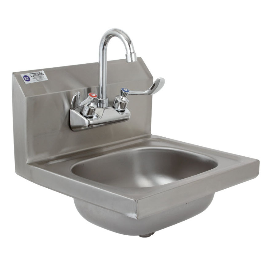 Royal Industries ROY HSW 15 sink, hand