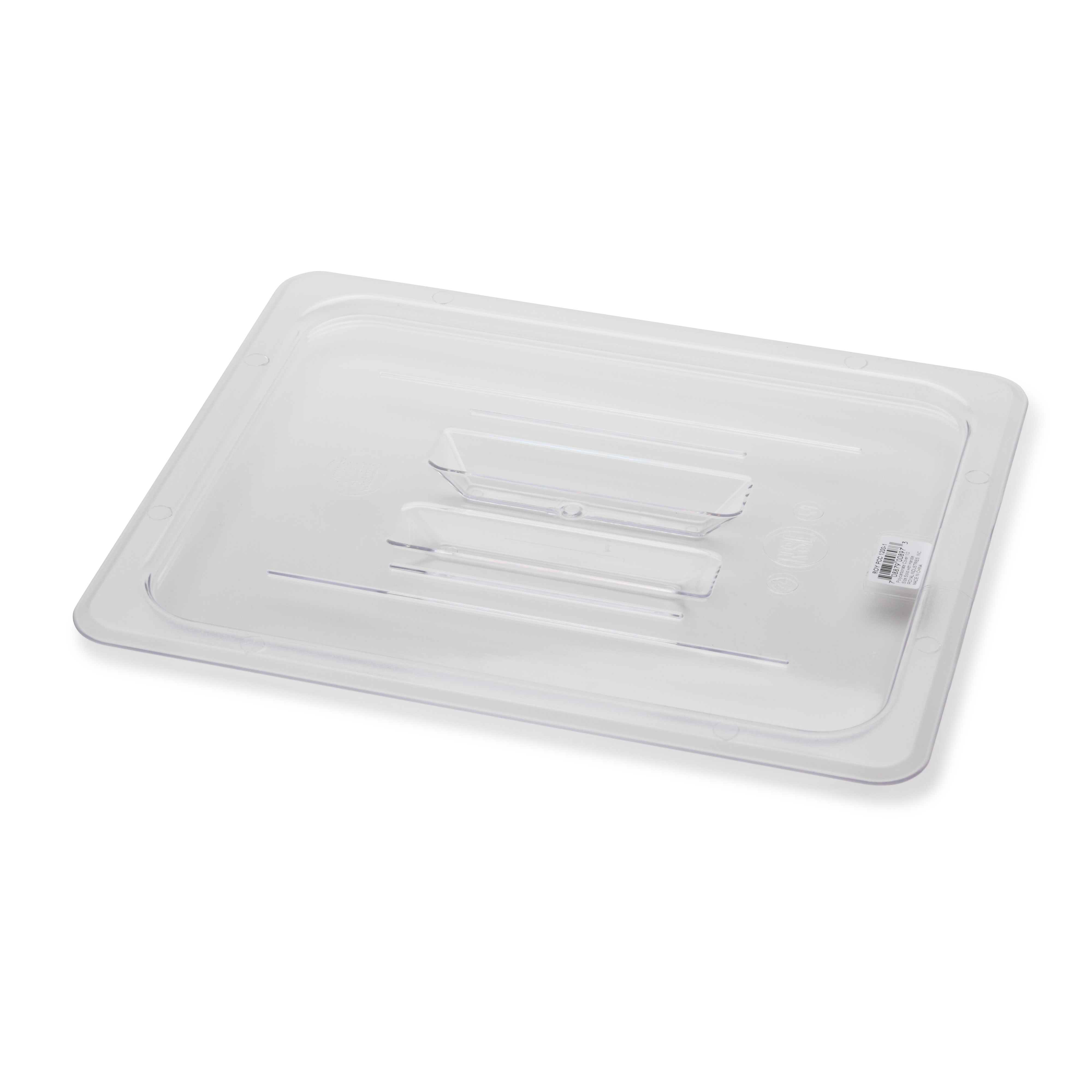 Royal Industries ROY PCC 1200-1 food pan cover, plastic