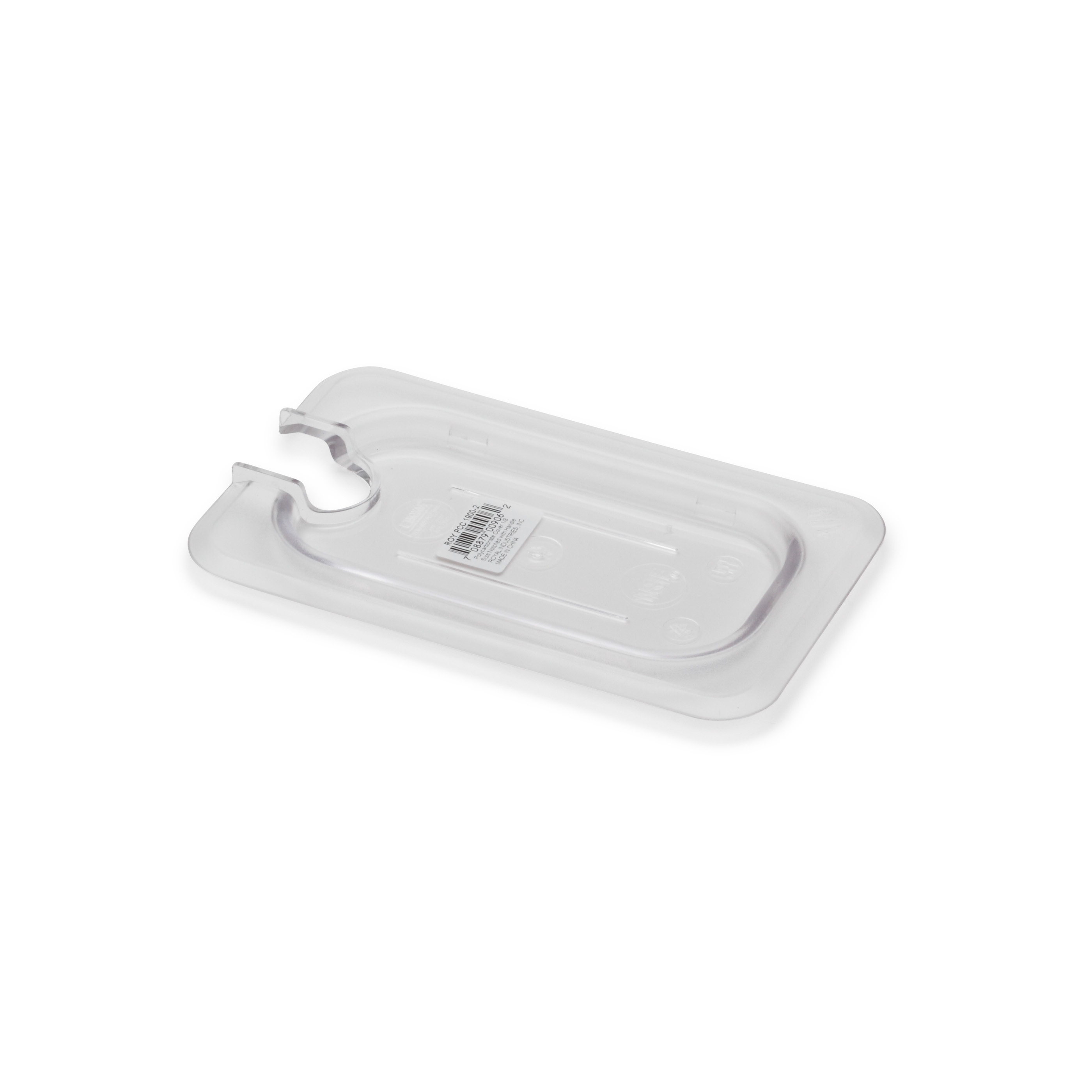 Royal Industries ROY PCC 1900-2 food pan cover, plastic