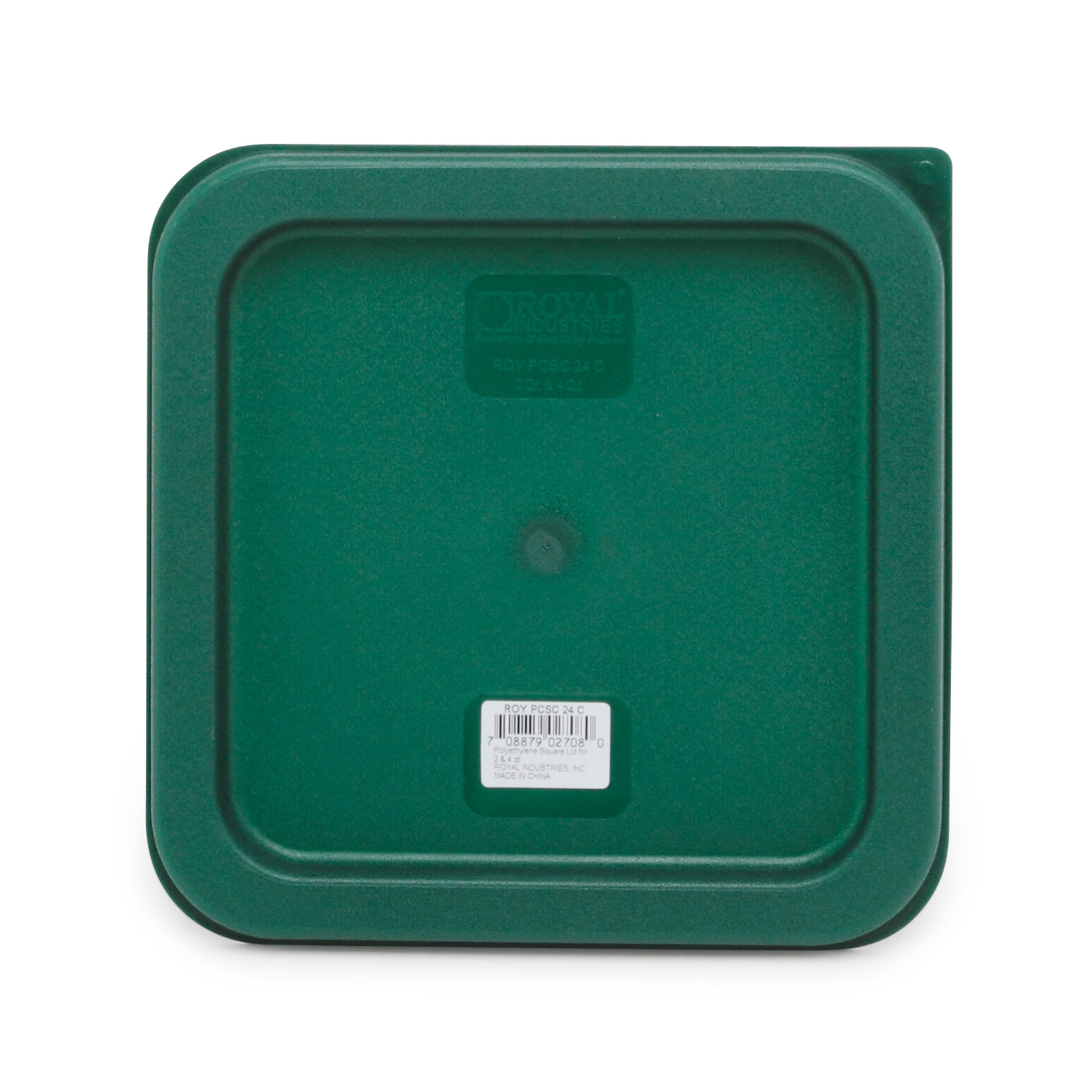 Royal Industries ROY PCSC 24 C food storage container cover