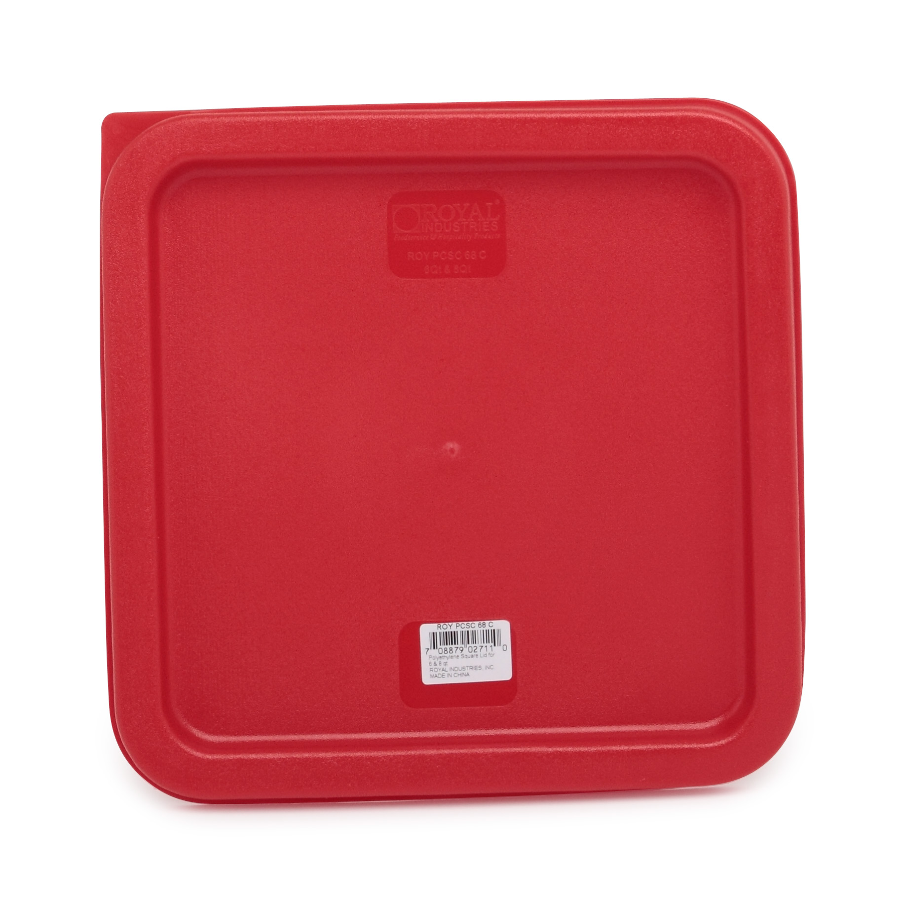 Royal Industries ROY PCSC 68 C food storage container cover