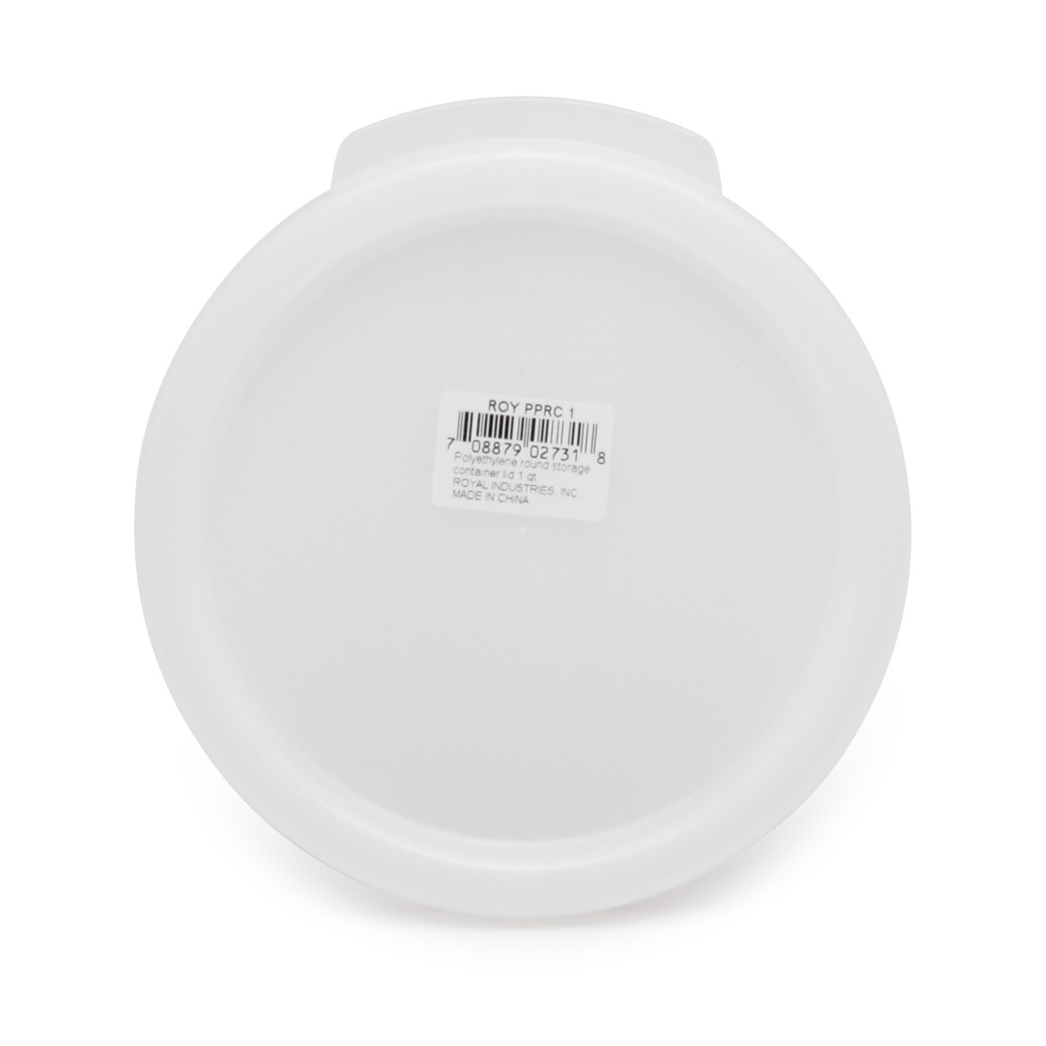 Royal Industries ROY PPRC 1 food storage container cover