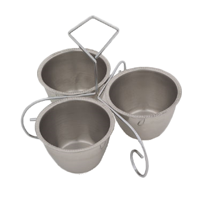 Royal Industries ROY S 3 B condiment caddy, bowl only