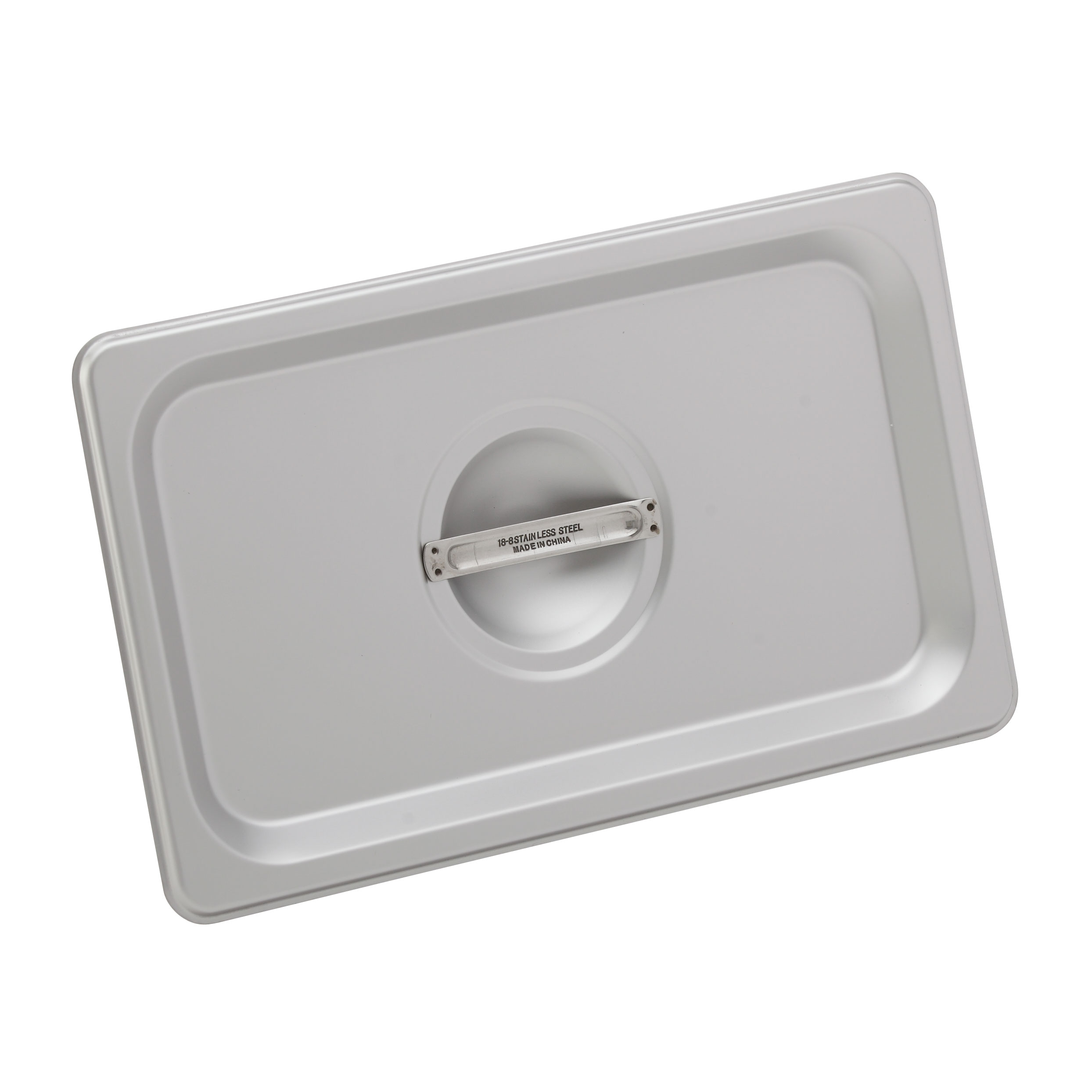 Royal Industries ROY STP 1300 1 steam table pan cover, stainless steel