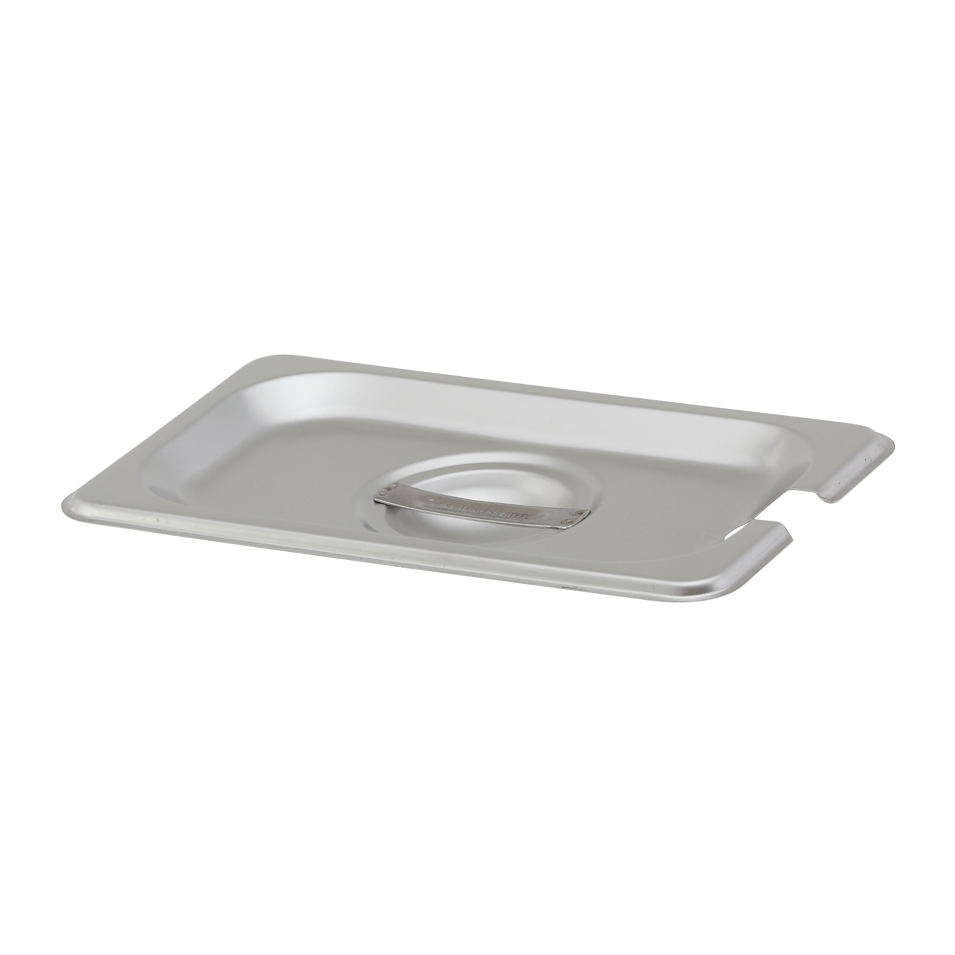 Royal Industries ROY STP 1900 2 steam table pan cover, stainless steel