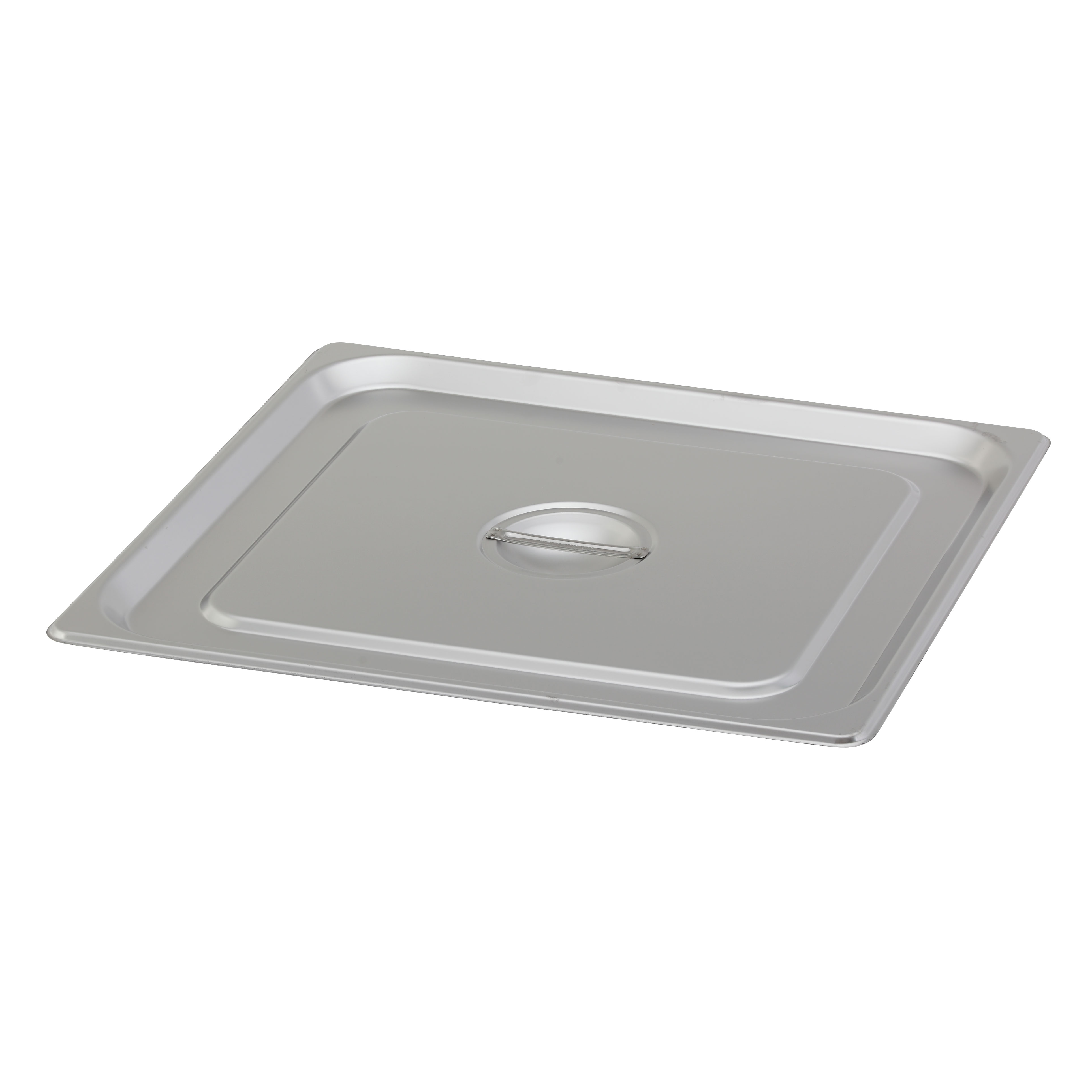 Royal Industries ROY STP 2300 1 steam table pan cover, stainless steel