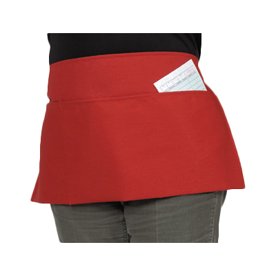 Royal Industries RWA 432 R PKT waist apron