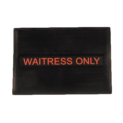 Royal Industries WAITRESS MAT bar mat