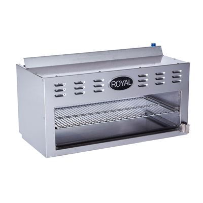 Royal Range of California RCM-24 cheesemelter, gas