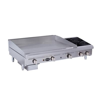 Royal Range of California RMG-48OB2 griddle / hotplate, gas, countertop