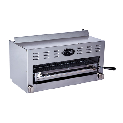 Royal Range of California RSB-24 salamander broiler, gas