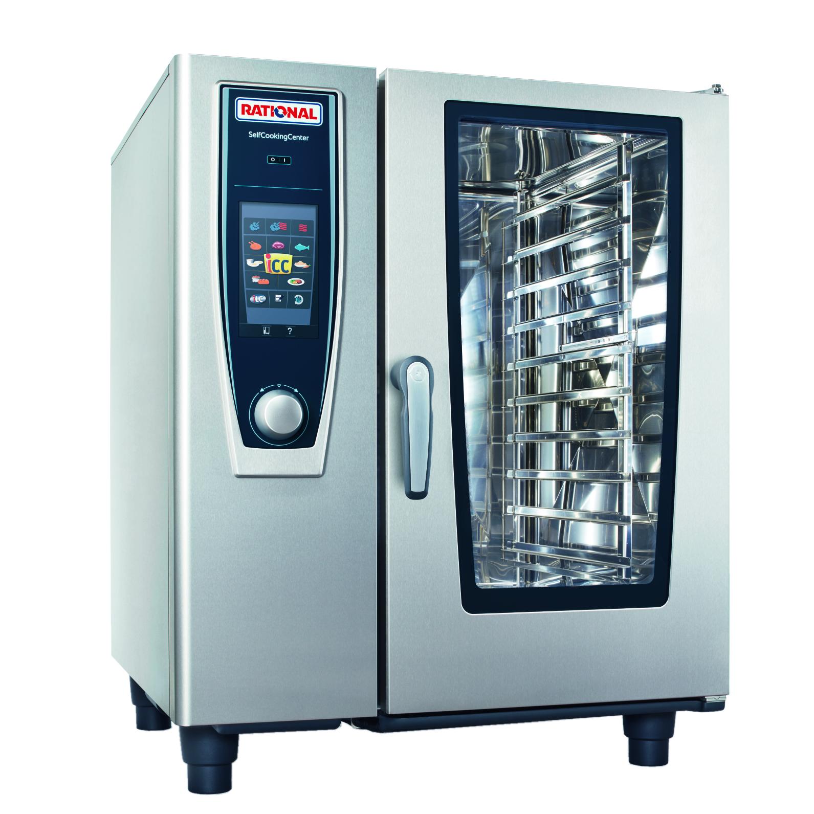 RATIONAL B118206.19D combi oven, gas