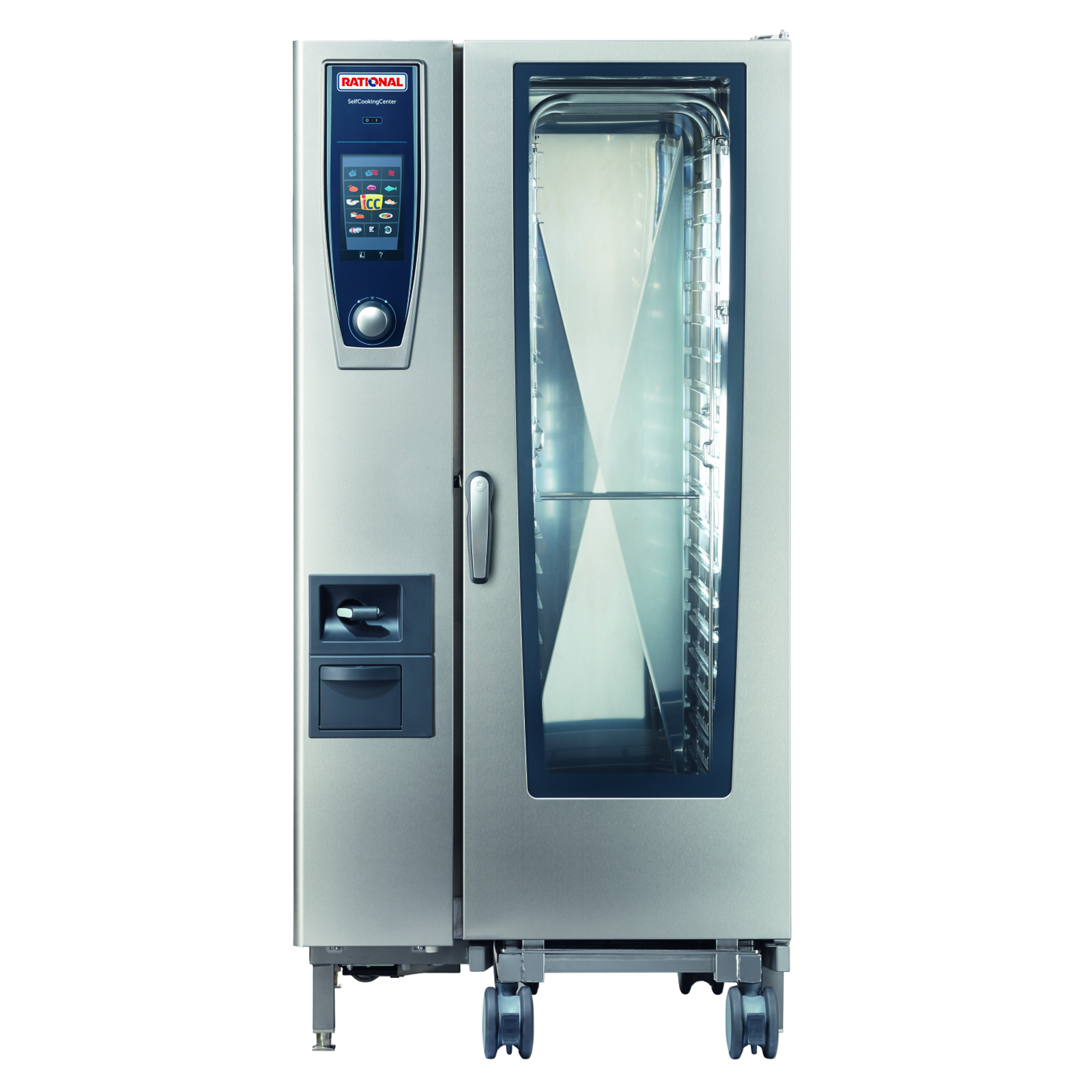 RATIONAL B218206.27D combi oven, gas