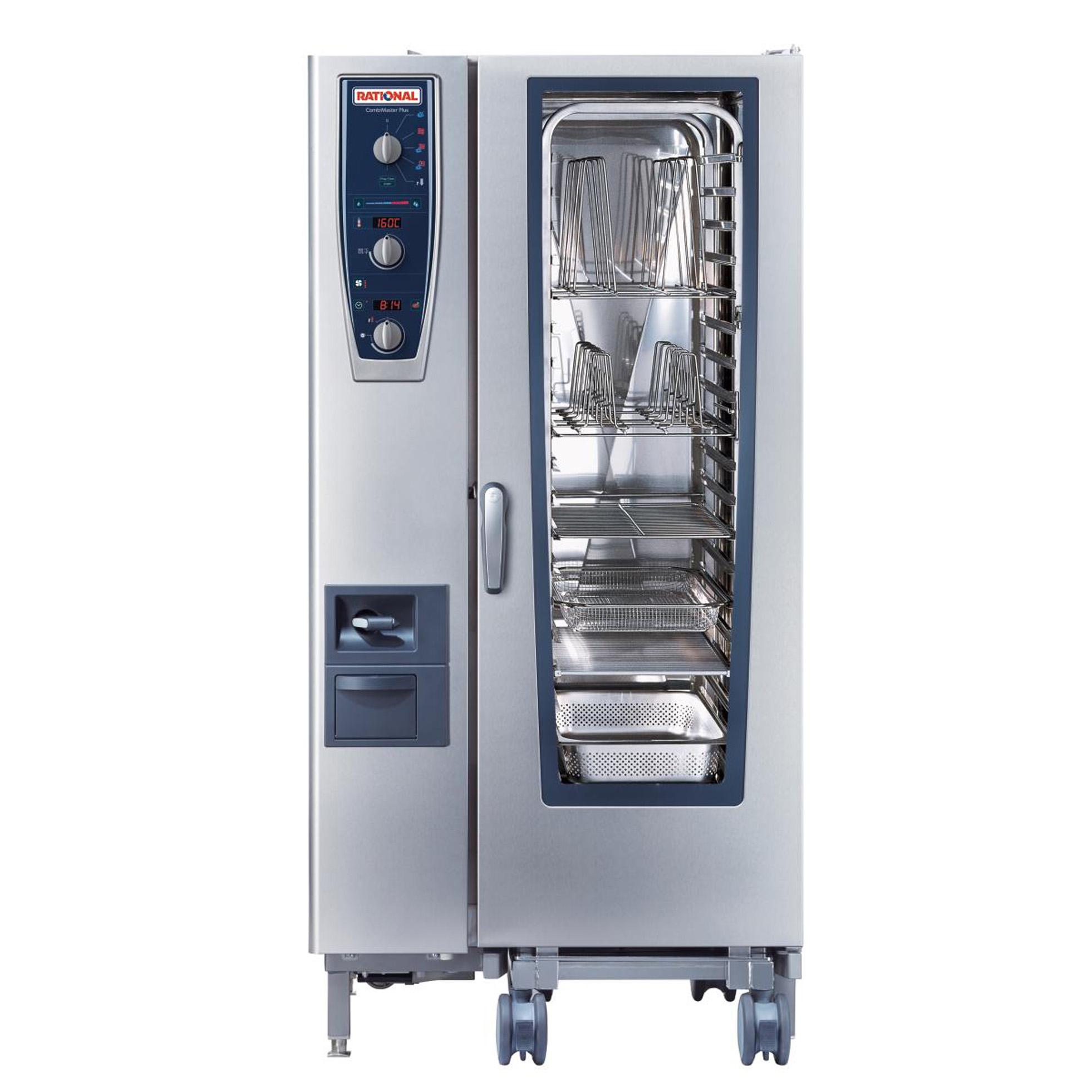 RATIONAL B219206.19E202 combi oven, gas