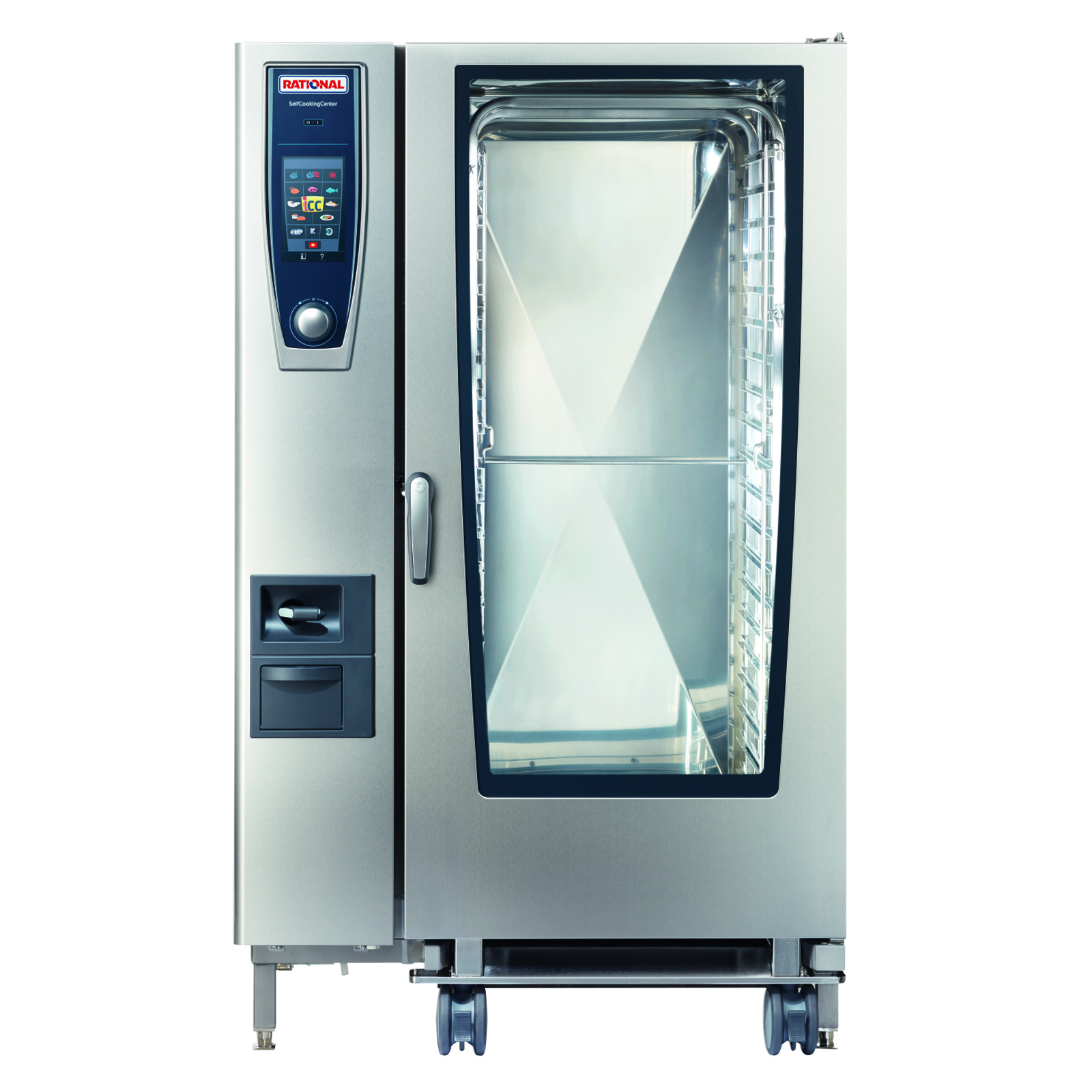 RATIONAL B228206.19D combi oven, gas