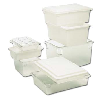 Rubbermaid Commercial Products FG330600CLR food storage container, box