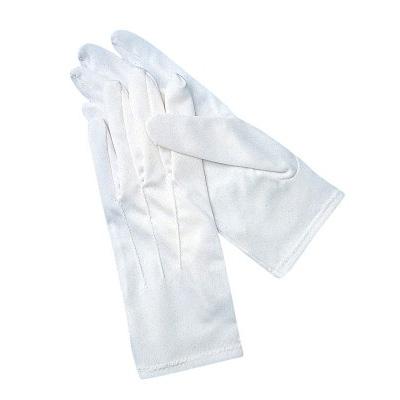 San Jamar 5312WH-M gloves, waiter / butler