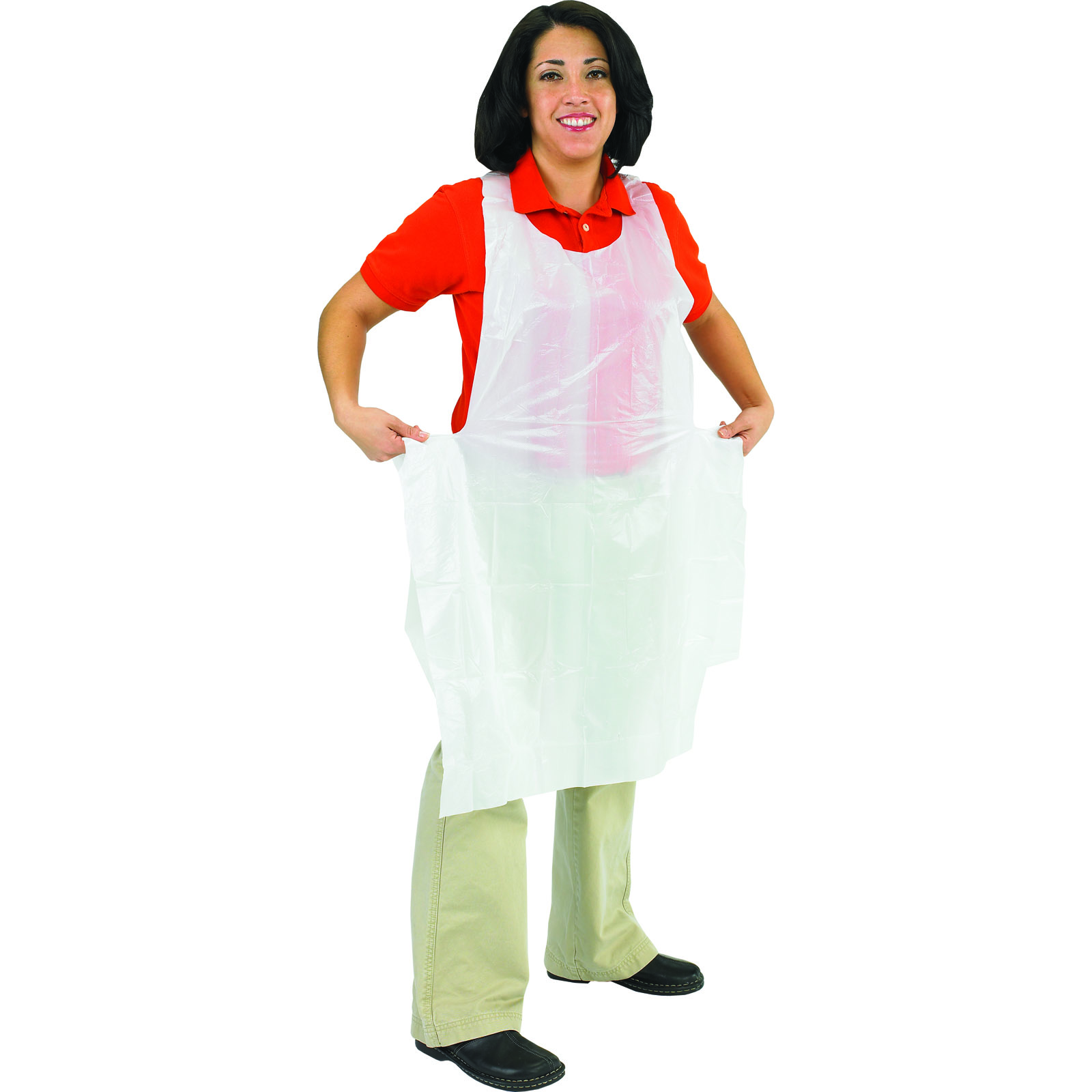 San Jamar 8706 disposable apron