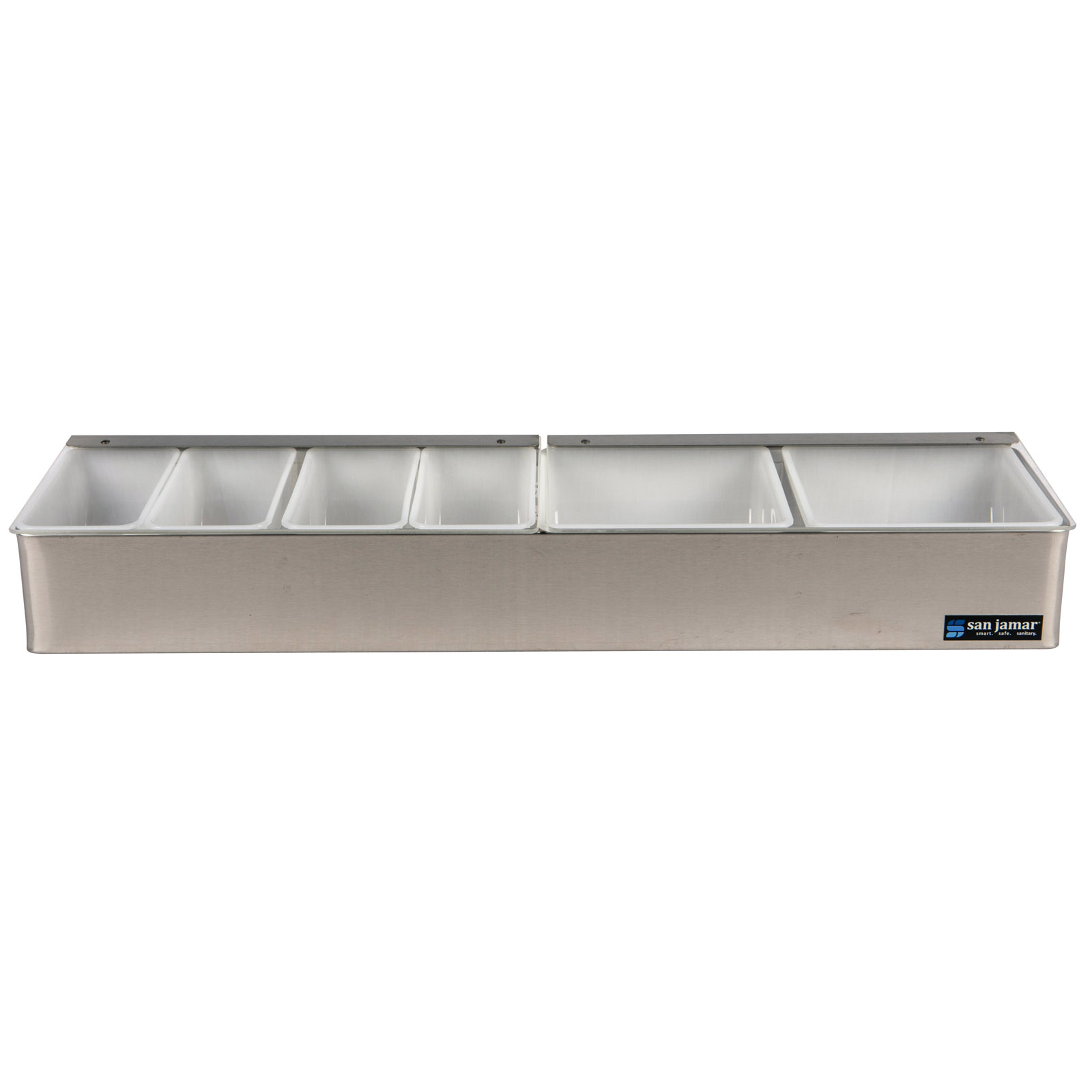 San Jamar B4246L bar condiment holder