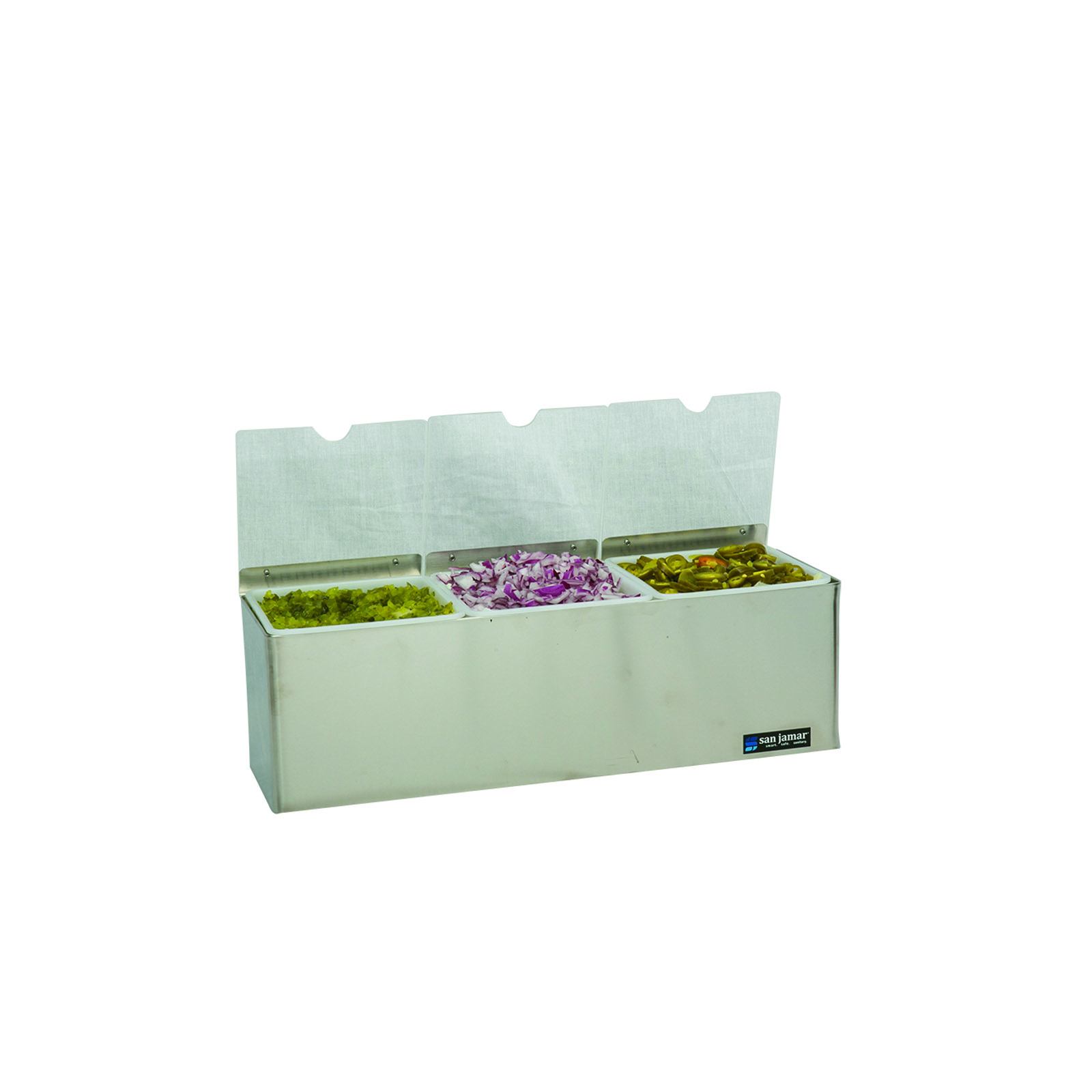San Jamar B6183INL bar condiment holder