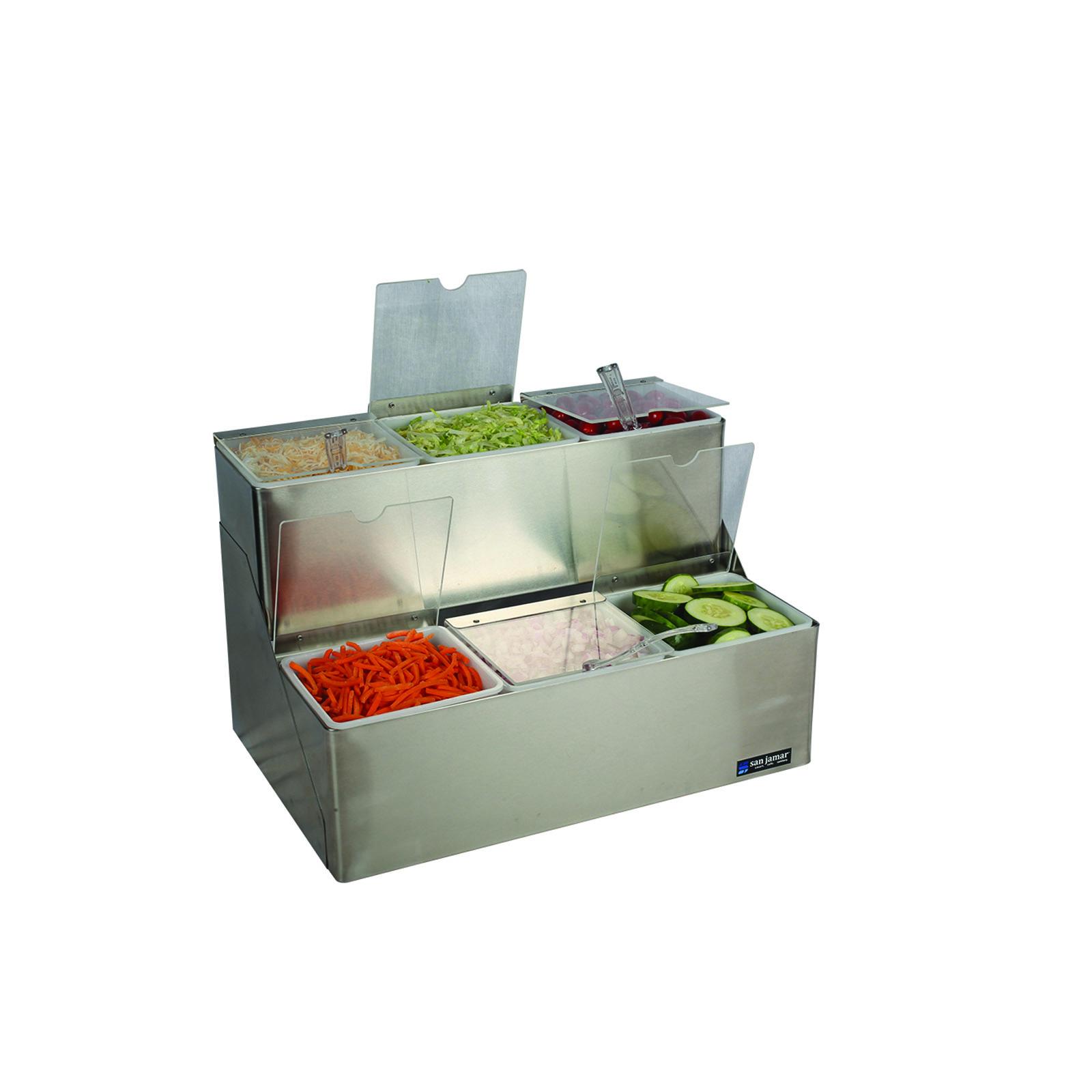San Jamar B6706INL condiment caddy, countertop organizer