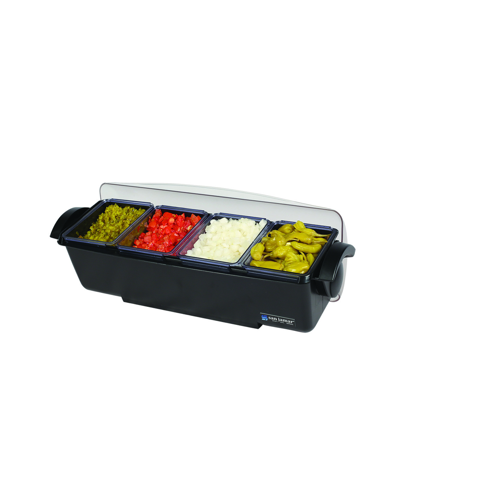 San Jamar BD4004 bar condiment holder