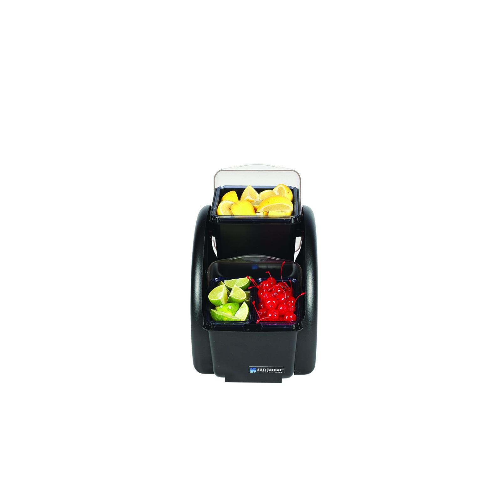 San Jamar BDS2203 bar condiment holder