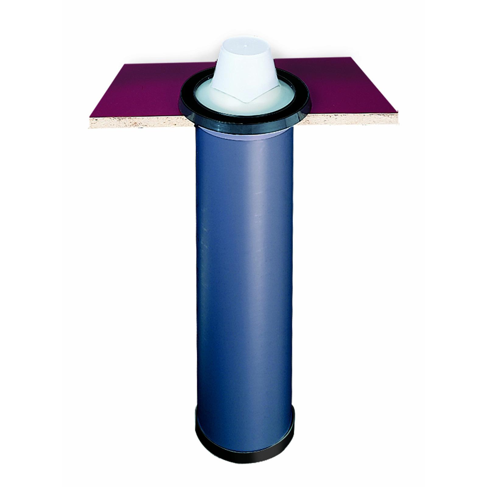San Jamar C2510C cup dispensers, in-counter