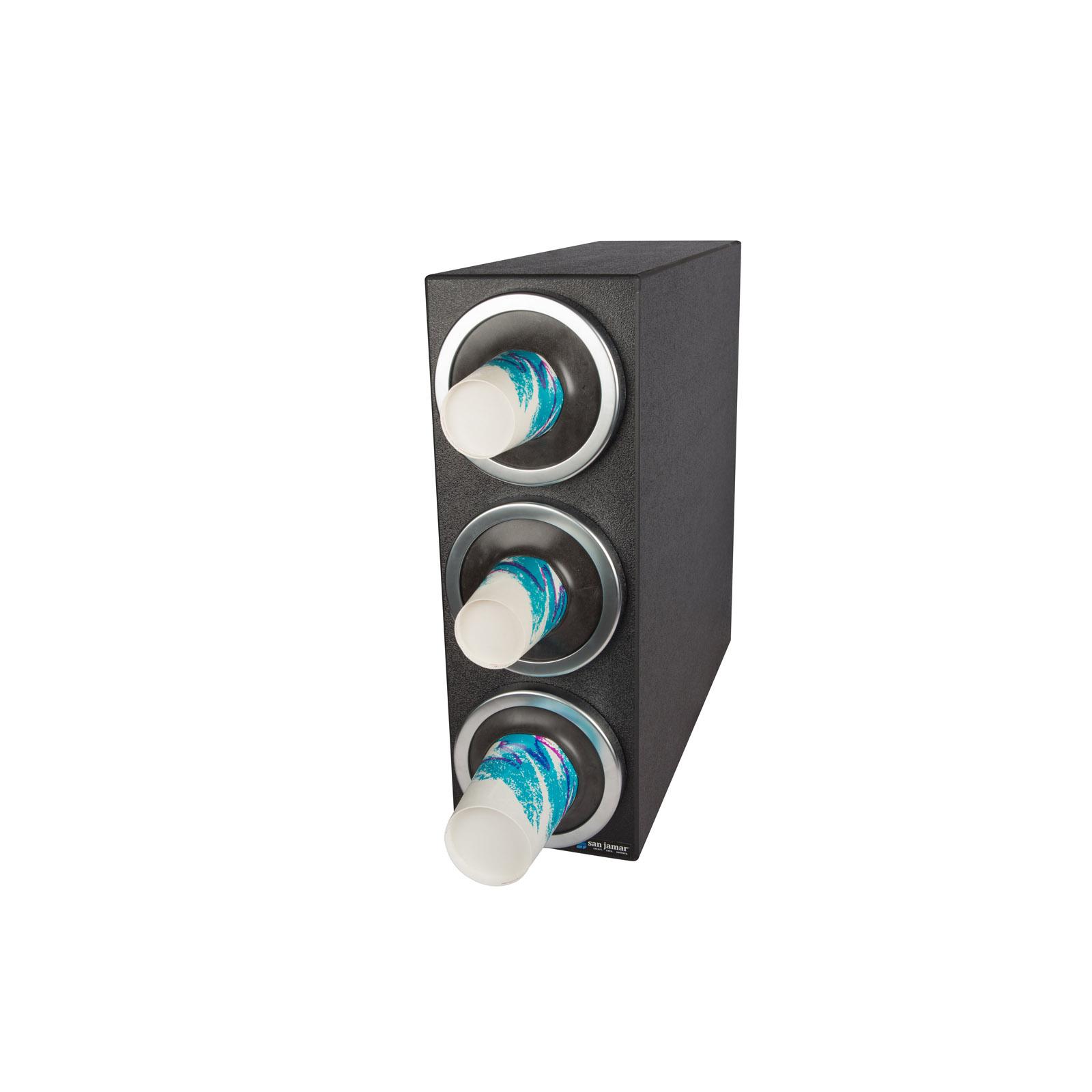 San Jamar C2903 cup dispensers, countertop