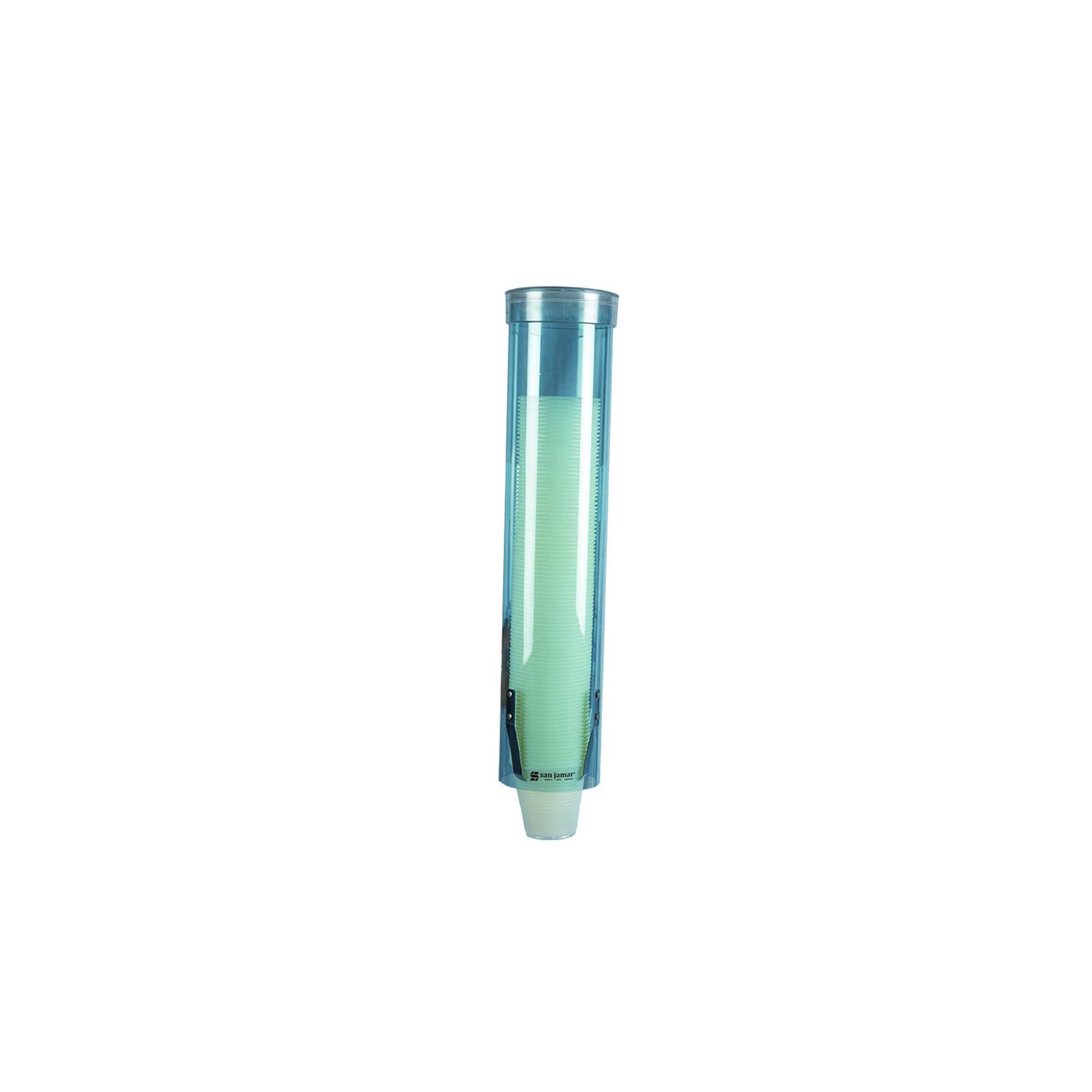 San Jamar C3165TBL20 cup dispensers, wall mount