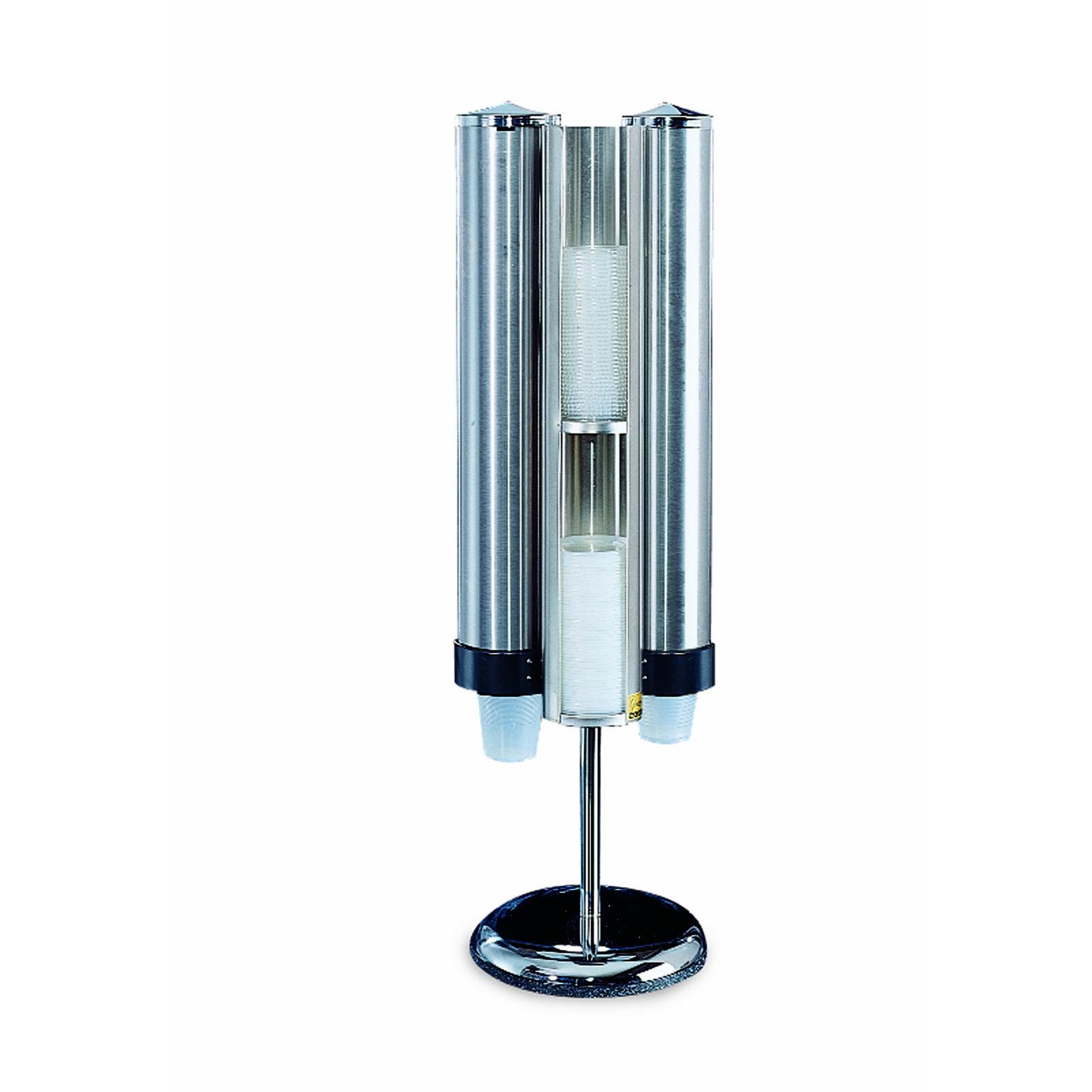 San Jamar C3620 cup dispensers, countertop