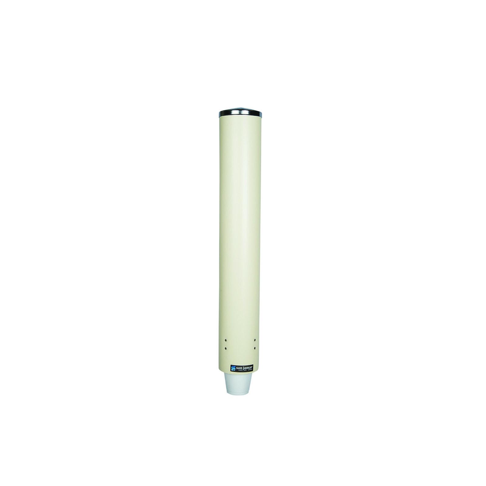 San Jamar C4210PFSD cup dispensers, wall mount