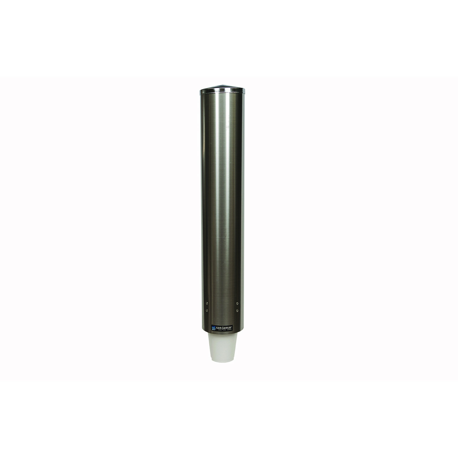 San Jamar C4500PF cup dispensers, wall mount