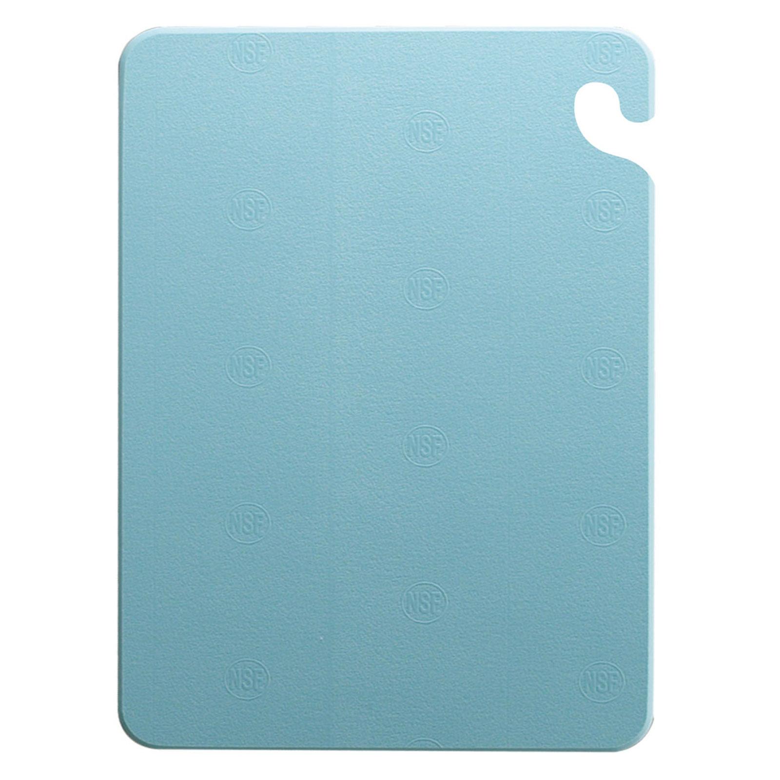 San Jamar CB182412BL cutting board, plastic