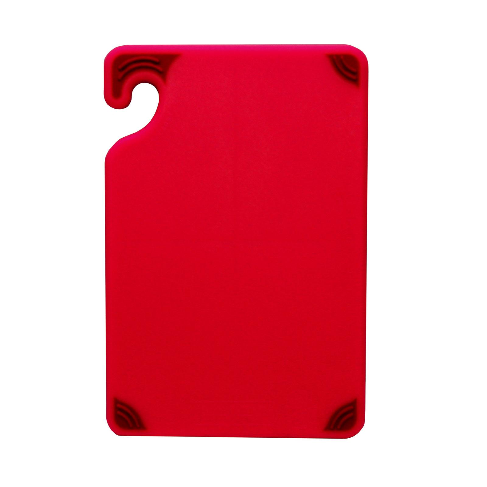 San Jamar CBG6938RD cutting board, plastic