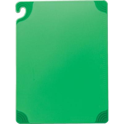 San Jamar CBG912GN cutting board, plastic