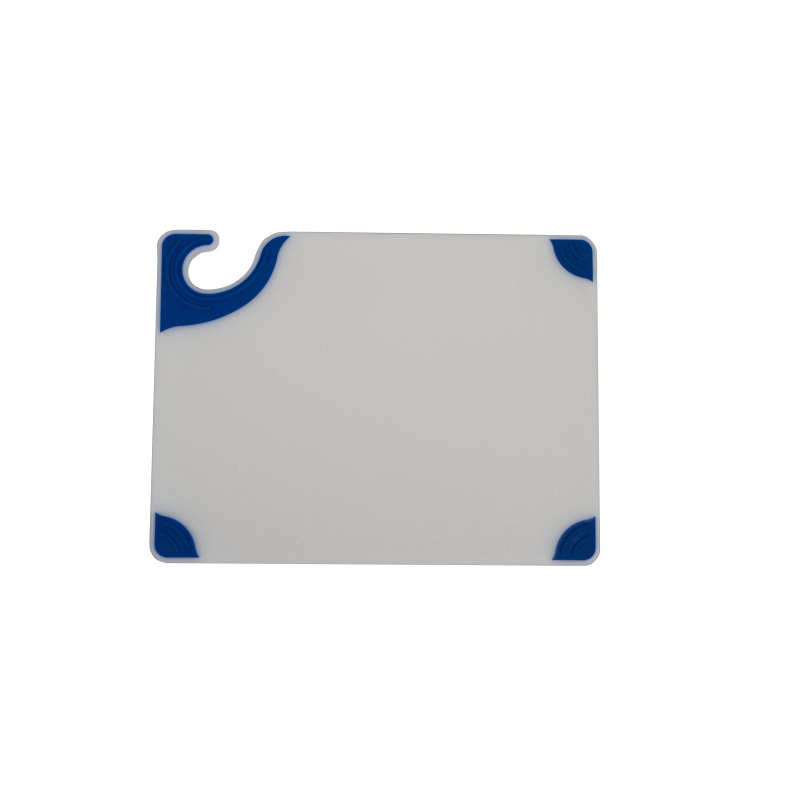 San Jamar CBGW912BL cutting board, plastic