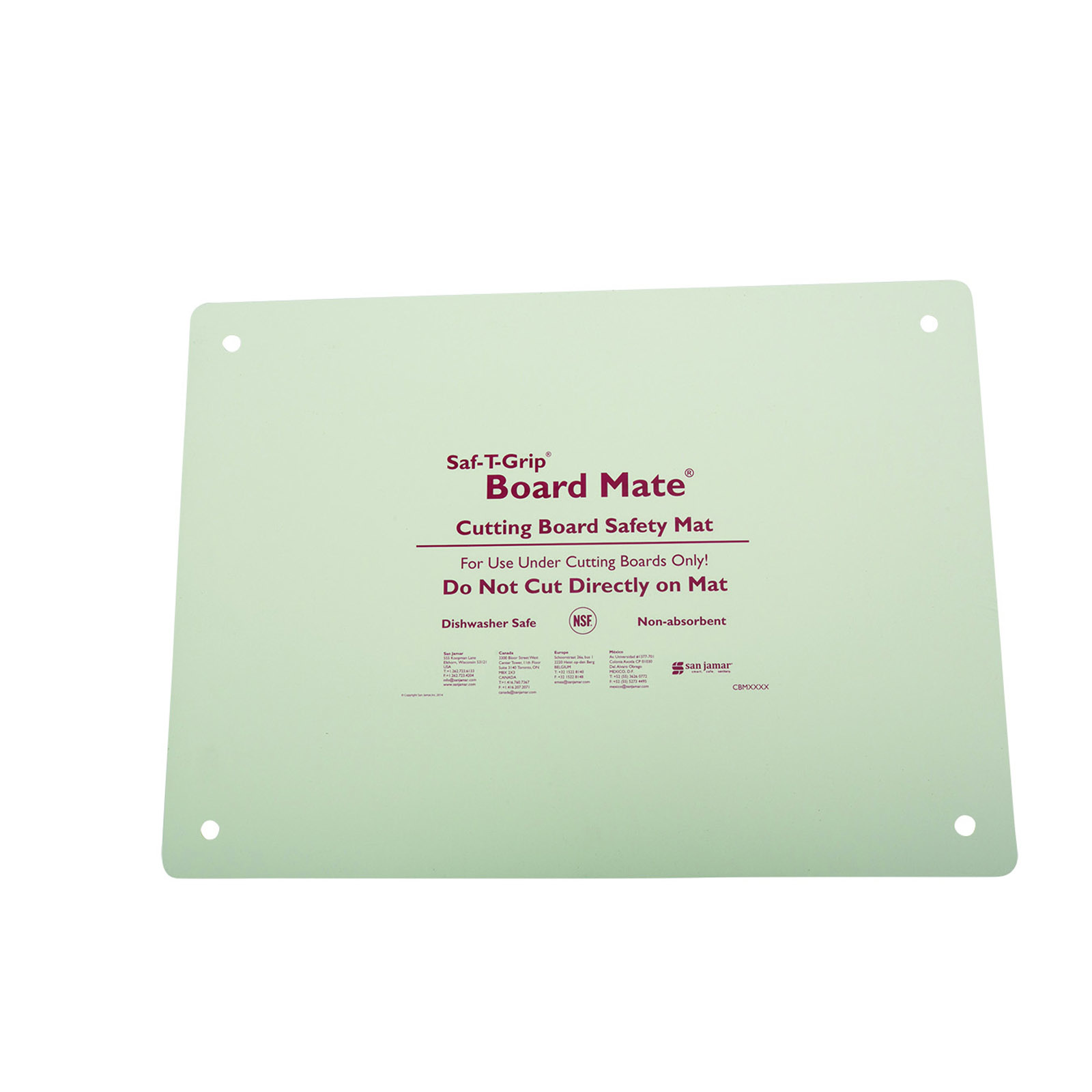 San Jamar CBM1318 cutting board mat
