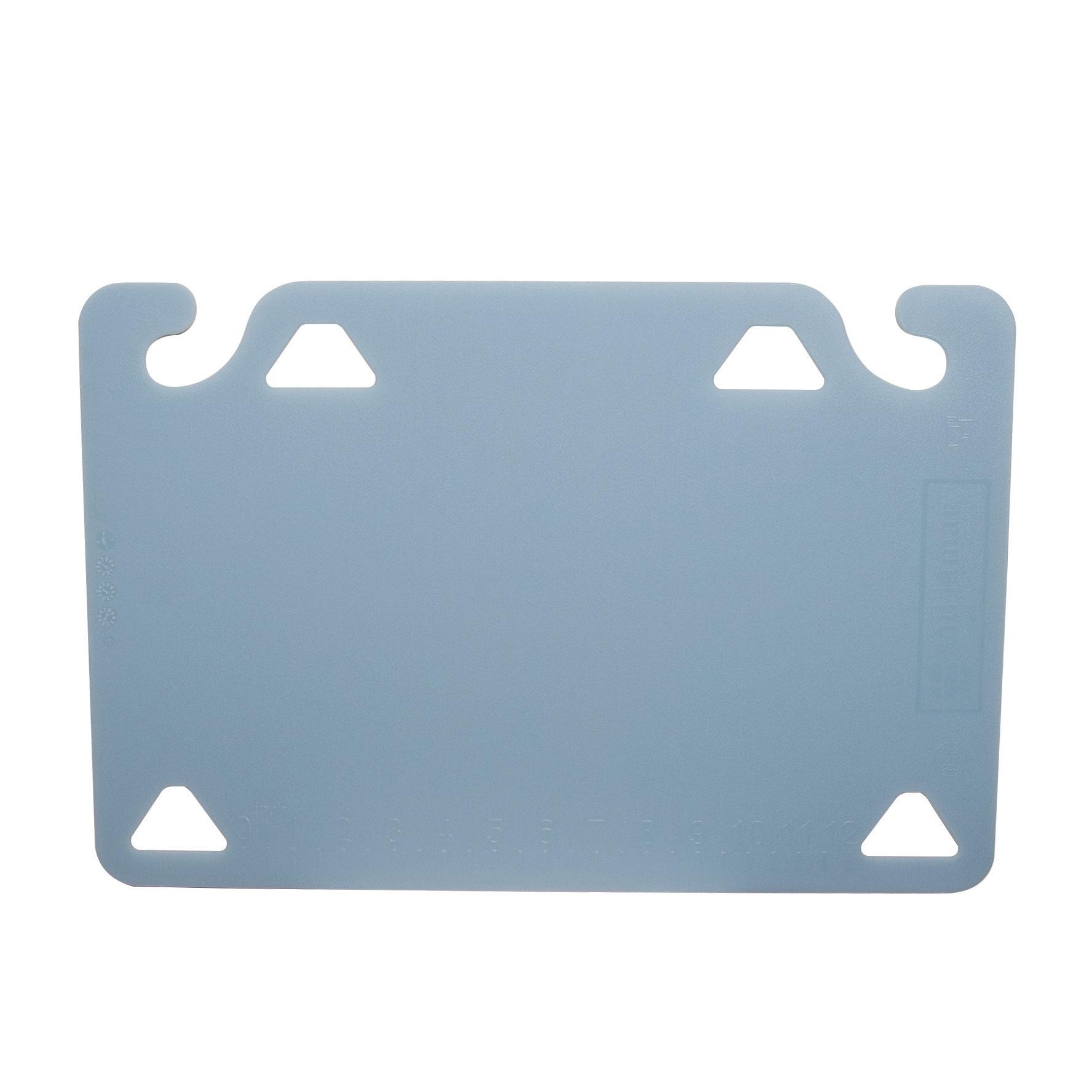 San Jamar CBQG1218BL cutting board, plastic