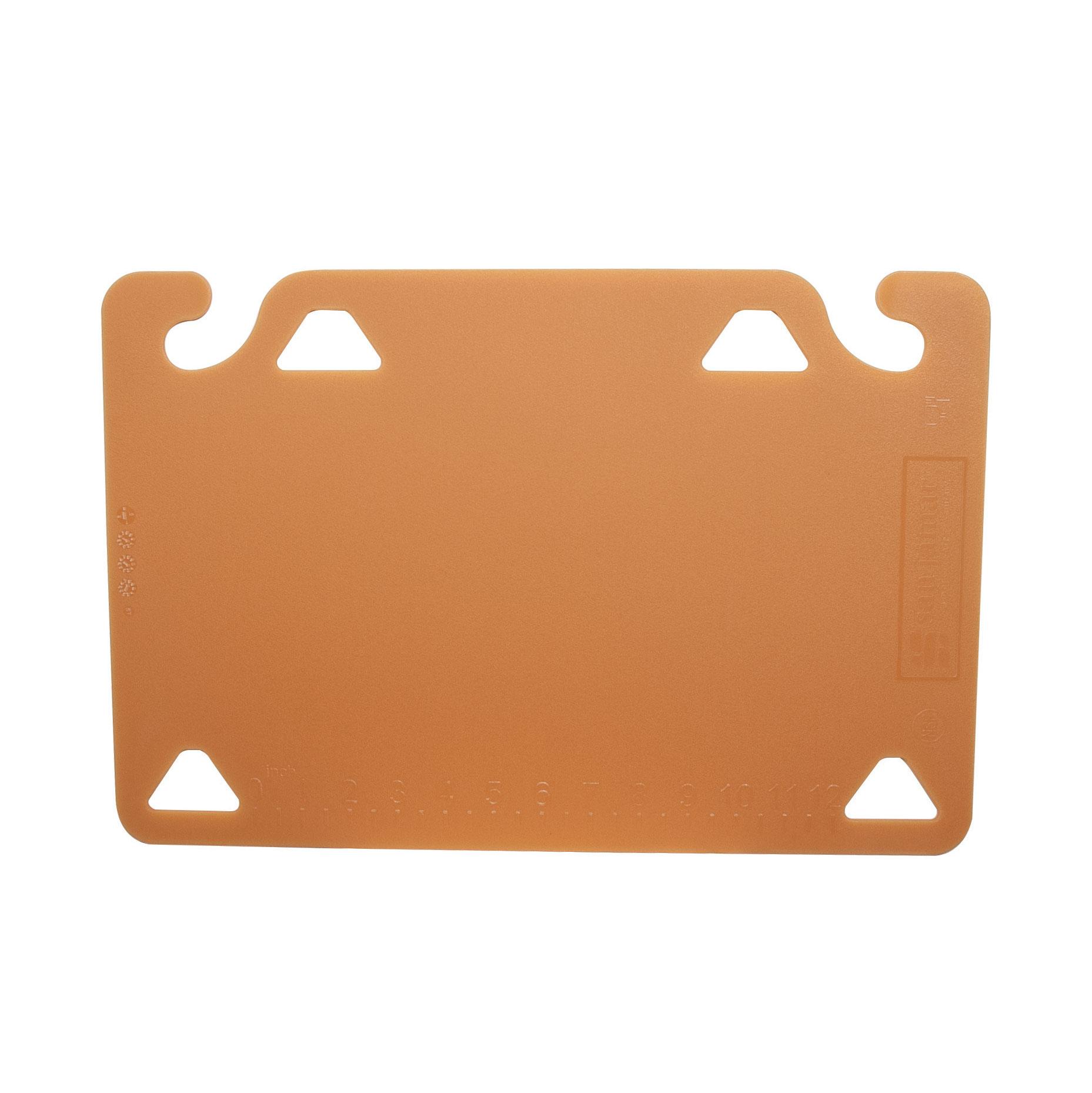 San Jamar CBQG1218BR cutting board, plastic