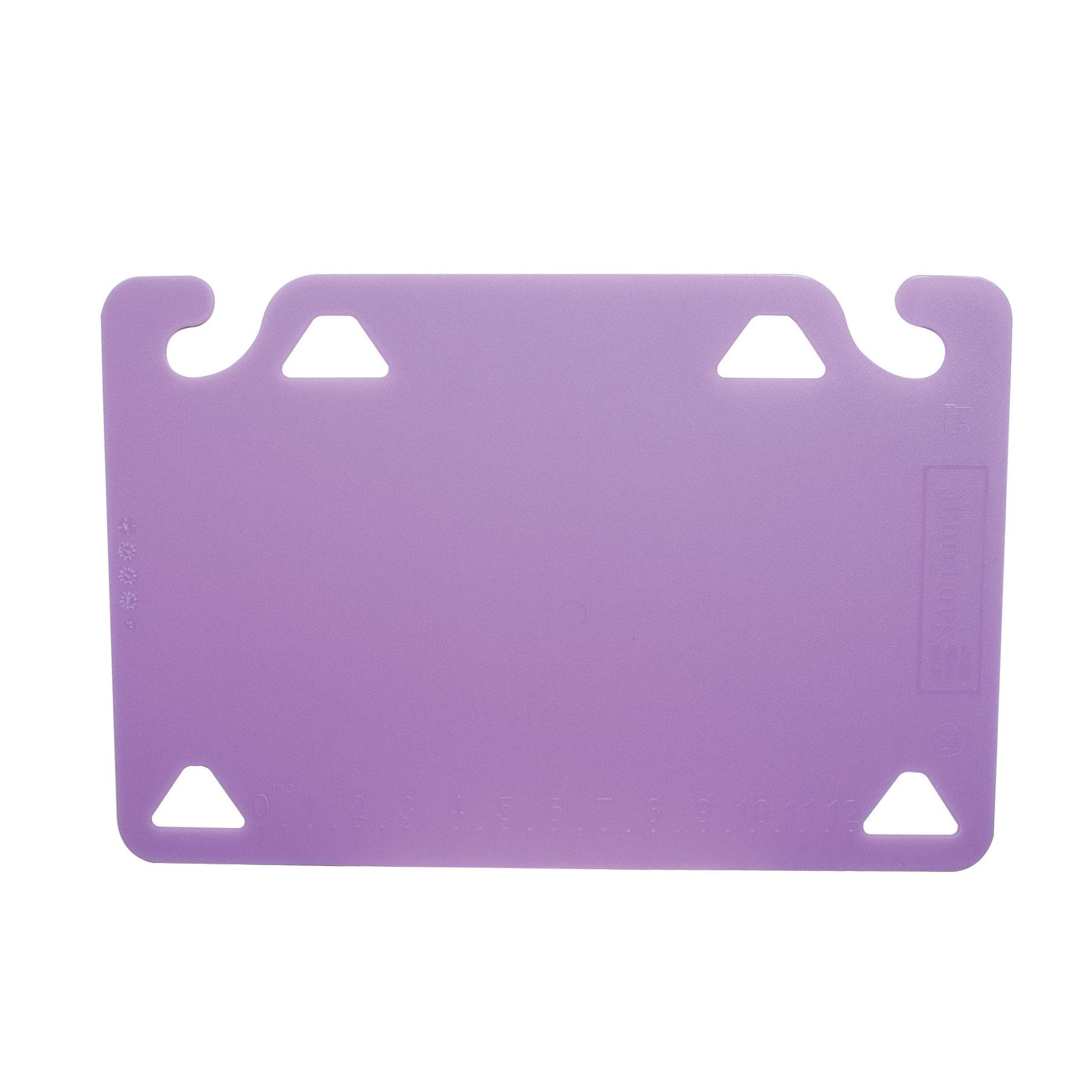 San Jamar CBQG1218PR cutting board, plastic