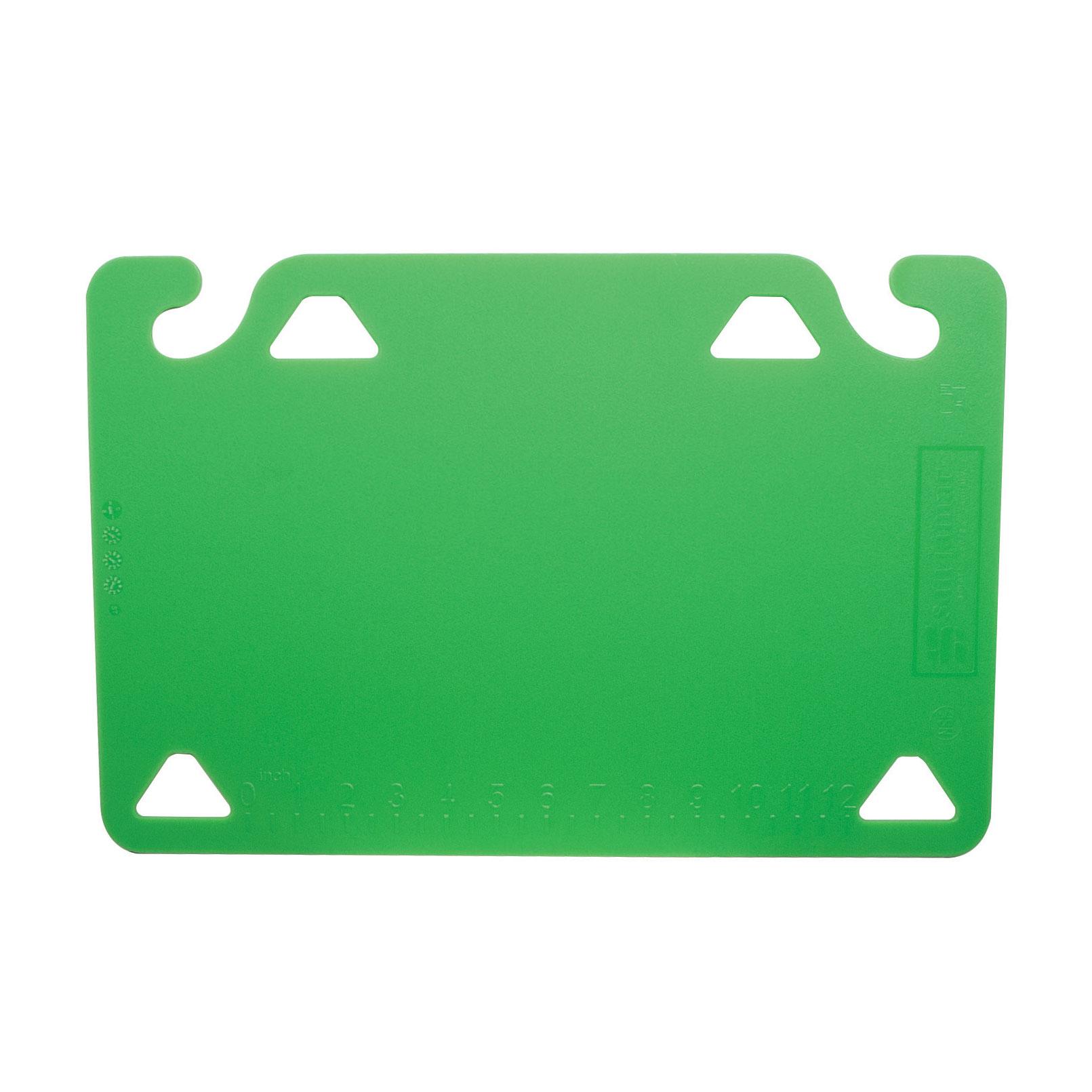 San Jamar CBQG1824GN cutting board, plastic