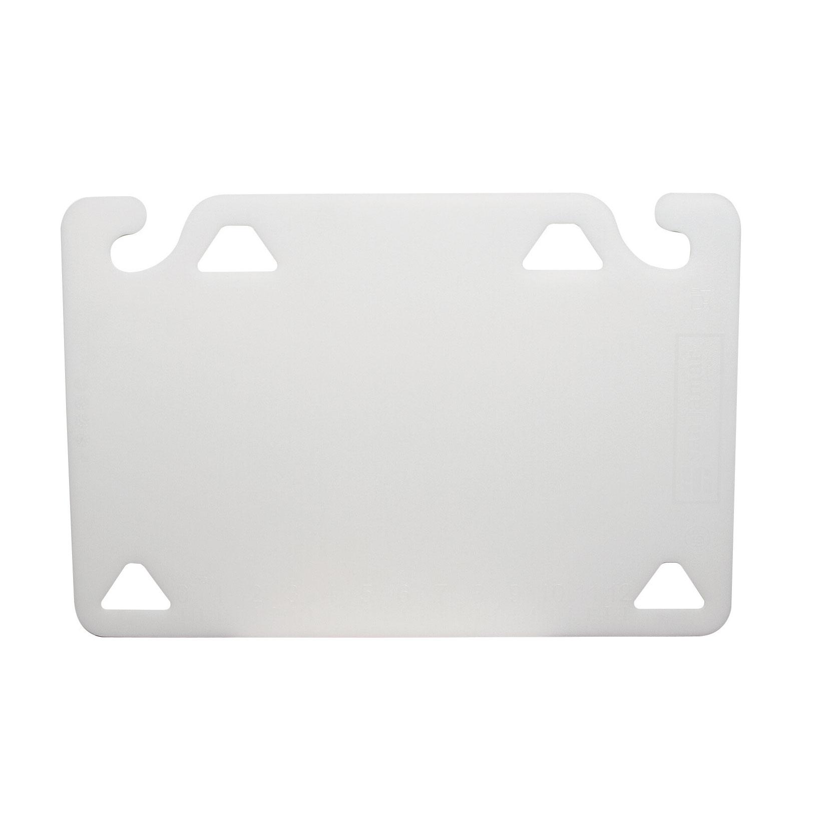 San Jamar CBQG1824WH cutting board, plastic
