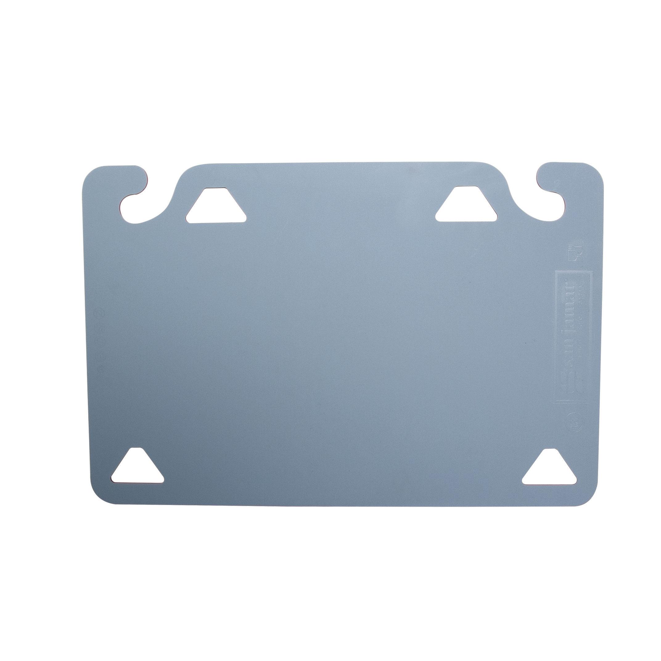 San Jamar CBQGSC1218BL cutting board, plastic