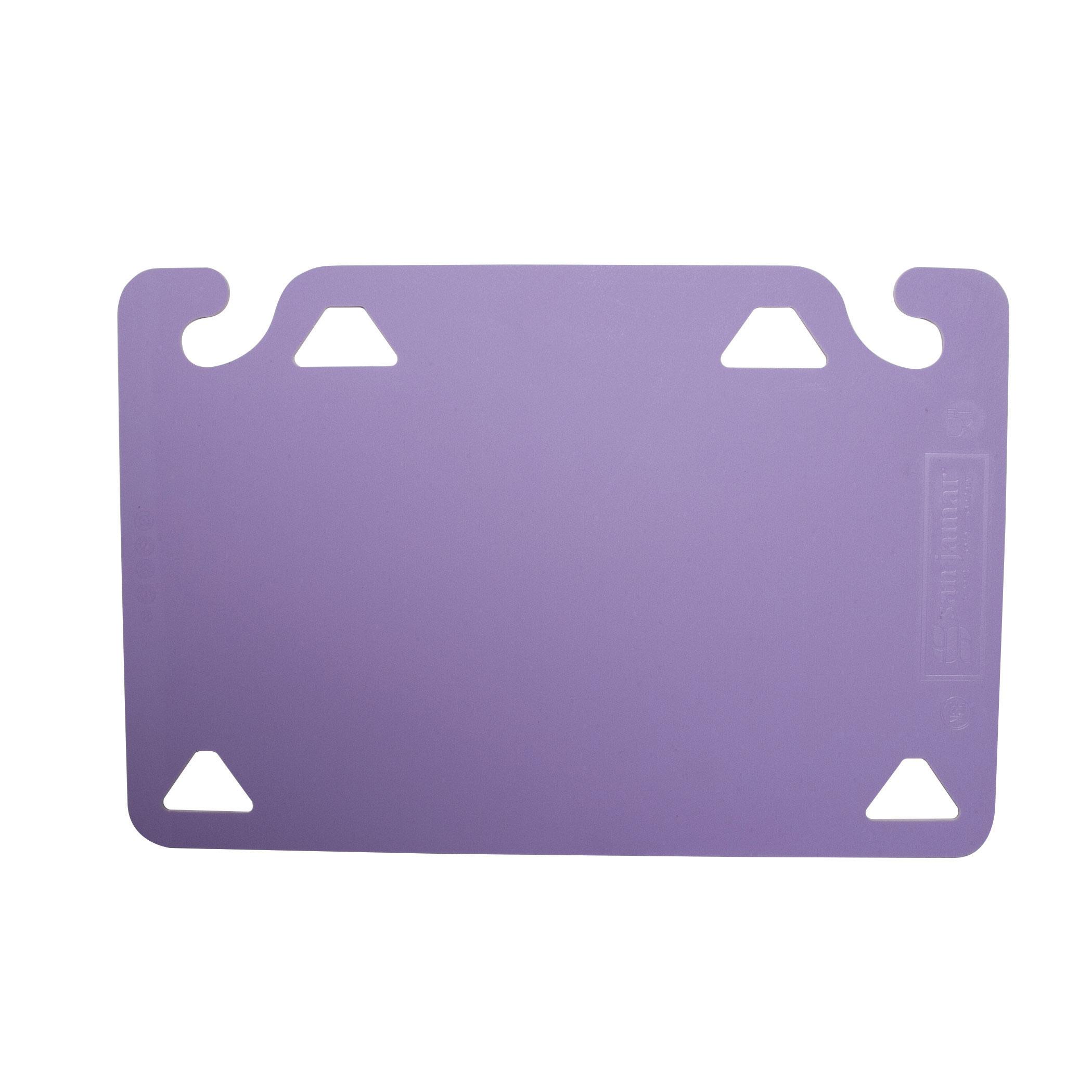 San Jamar CBQGSC1218PR cutting board, plastic