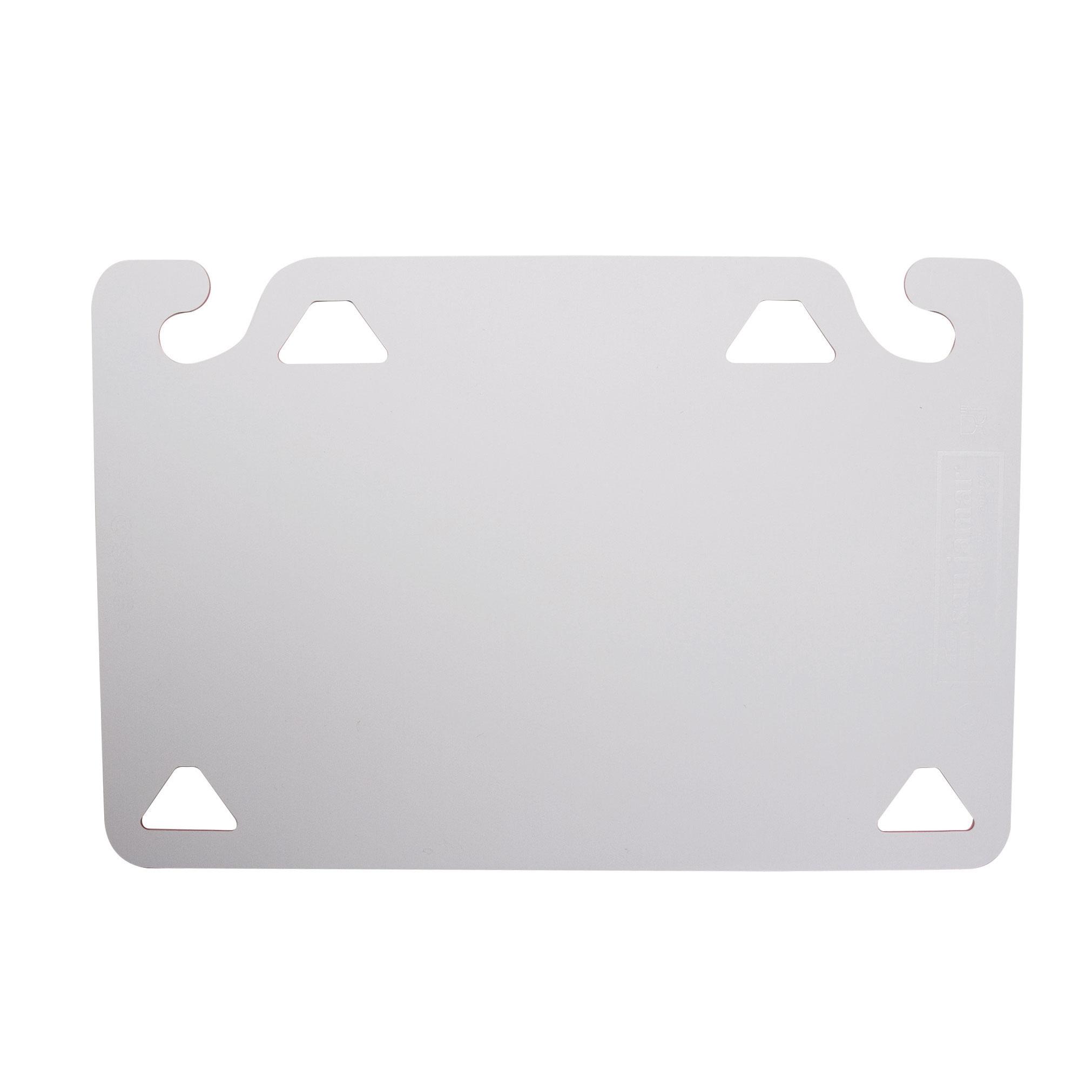 San Jamar CBQGSC1218WH cutting board, plastic