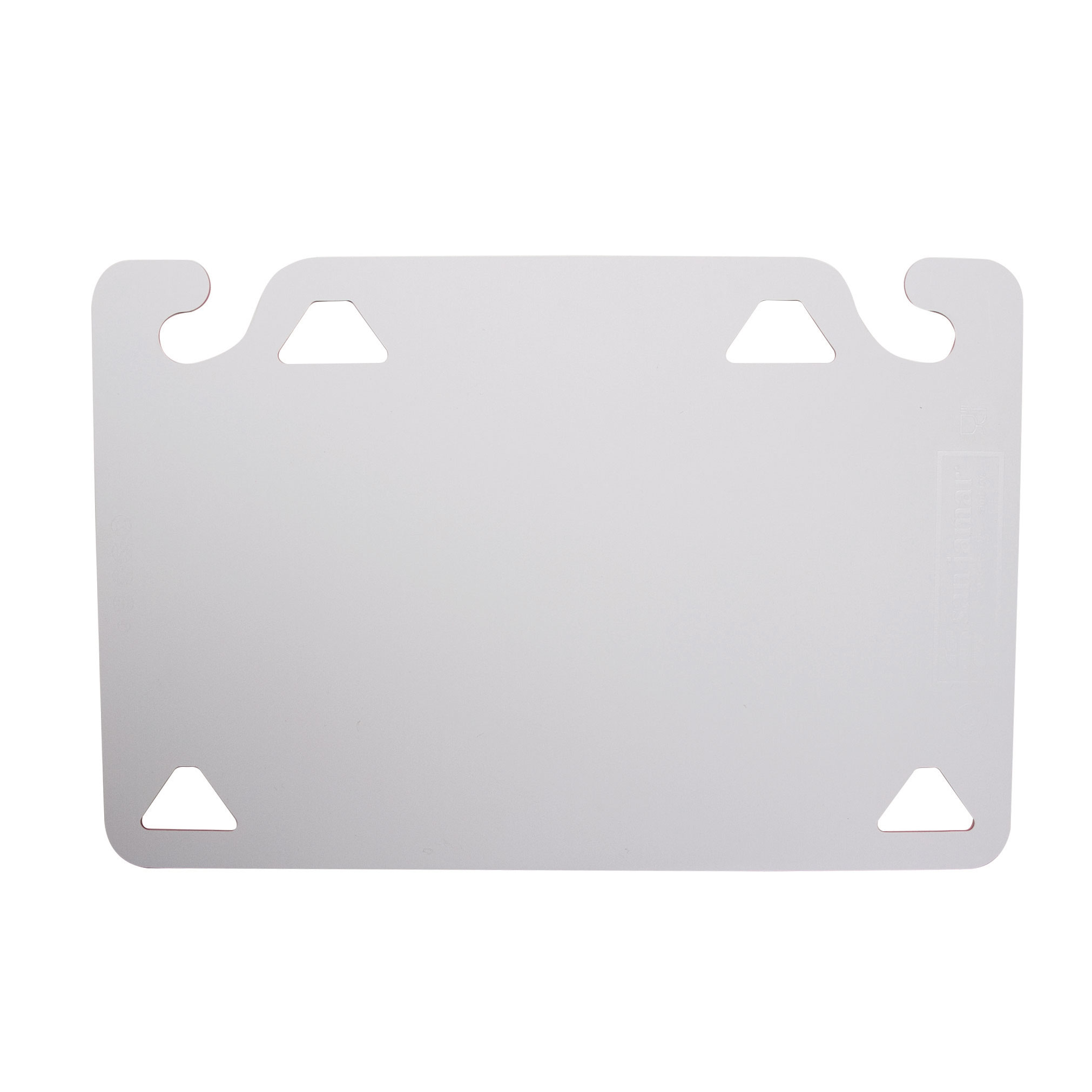San Jamar CBQGSC1520WH cutting board, plastic